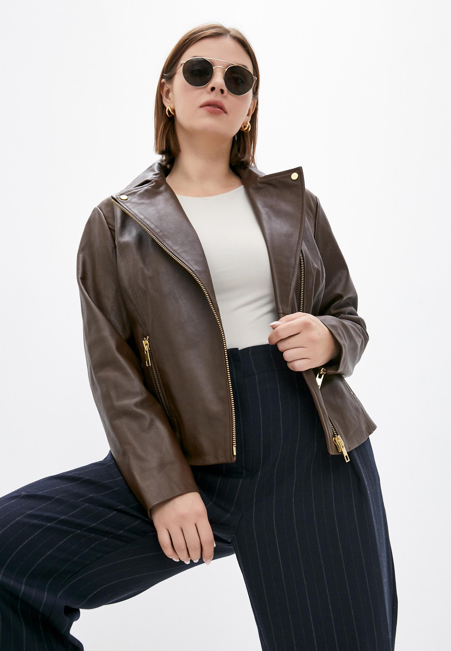 Кожаная куртка Marina Rinaldi Sport Куртка кожаная Marina Rinaldi Sport