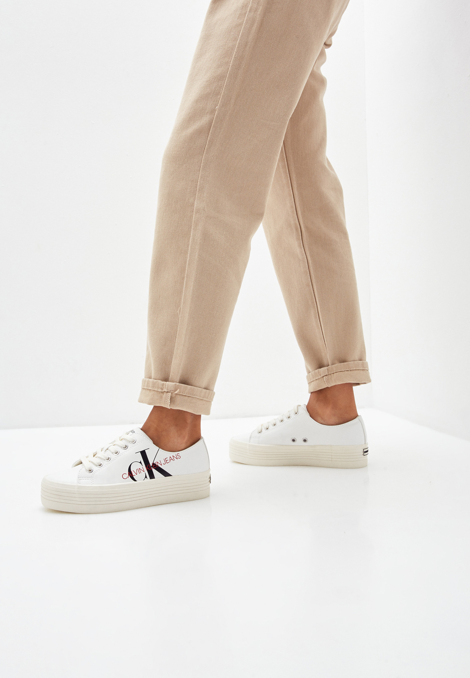 Женские кеды Calvin Klein Jeans B4R1667: изображение 6