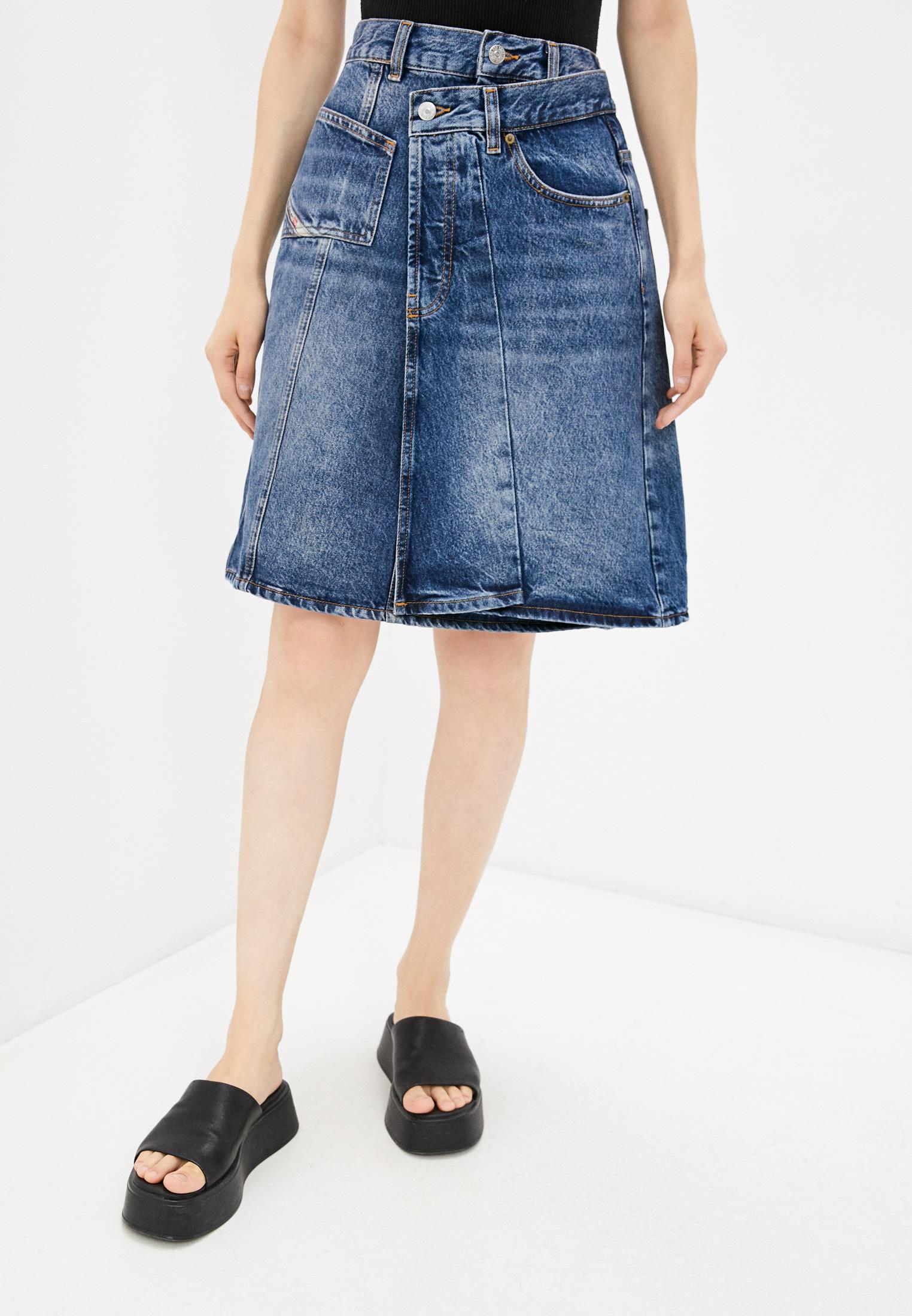 Джинсовая юбка Diesel (Дизель) Юбка джинсовая Diesel