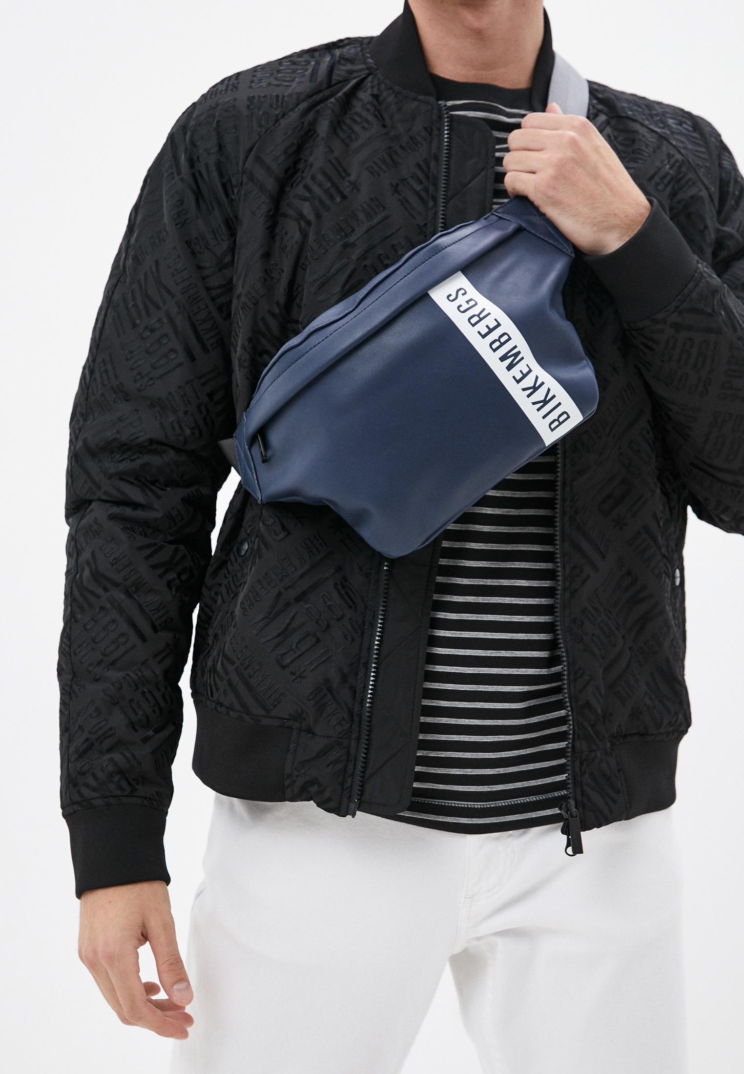 Поясная сумка Bikkembergs (Биккембергс) E4APME4A0042082: изображение 7