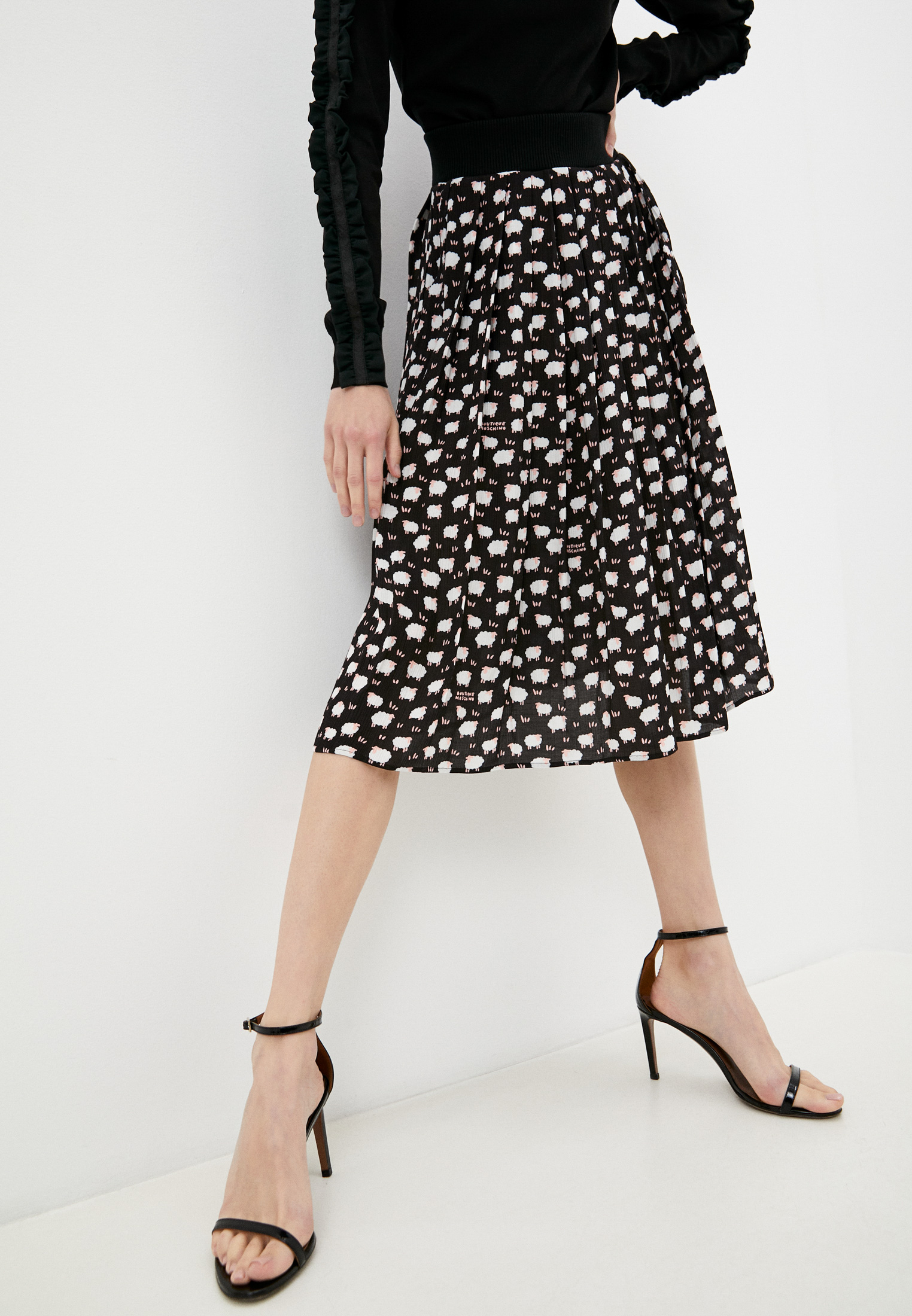 Широкая юбка Boutique Moschino Юбка Boutique Moschino