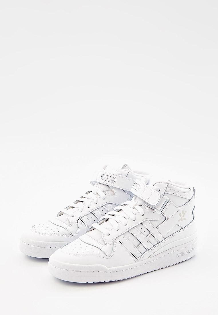 Кеды для мальчиков Adidas Originals (Адидас Ориджиналс) FZ2086: изображение 2