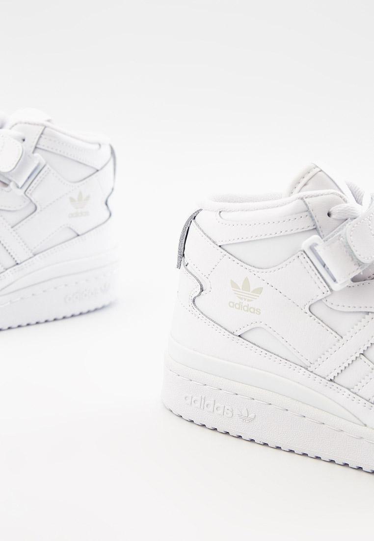 Кеды для мальчиков Adidas Originals (Адидас Ориджиналс) FZ2086: изображение 4