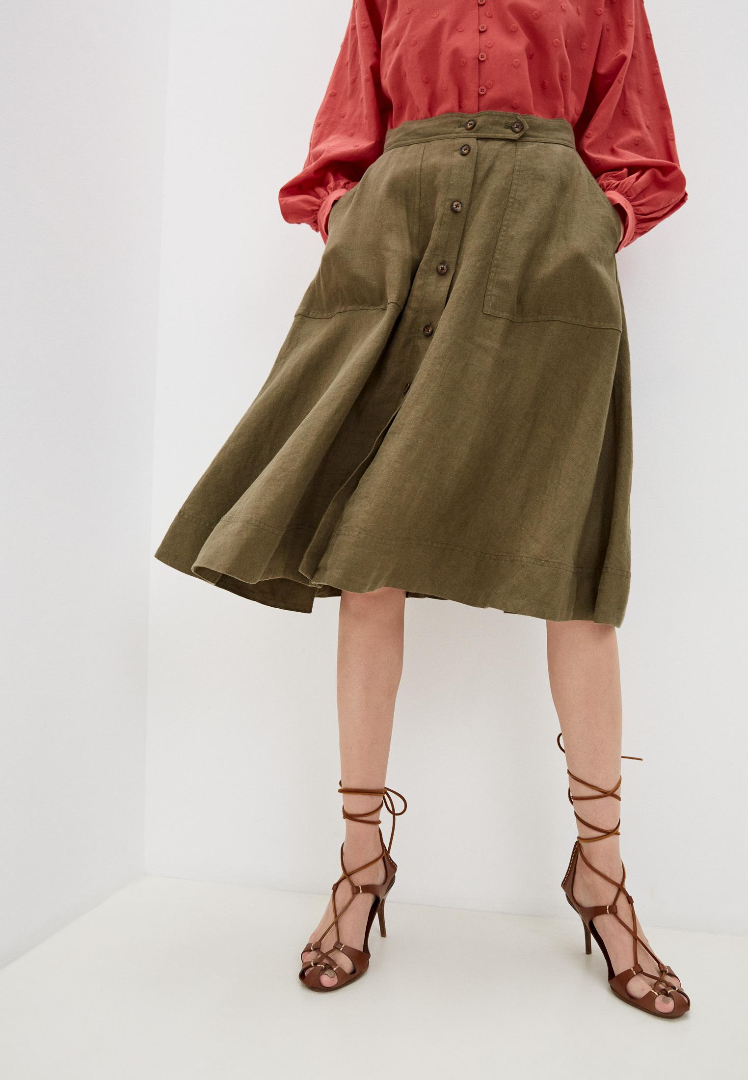 Широкая юбка Polo Ralph Lauren (Поло Ральф Лорен) 211837993002