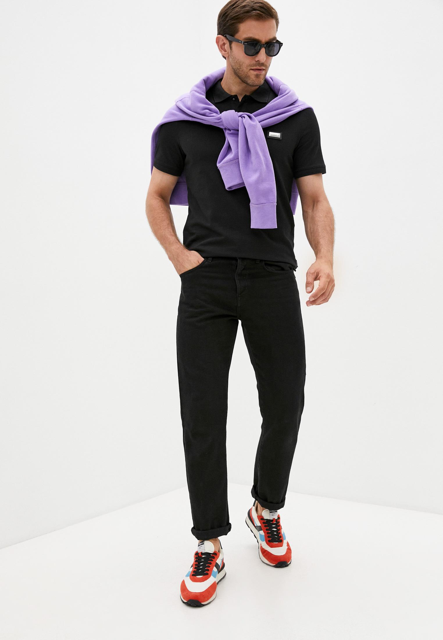 Мужские поло Calvin Klein (Кельвин Кляйн) K10K106457: изображение 3