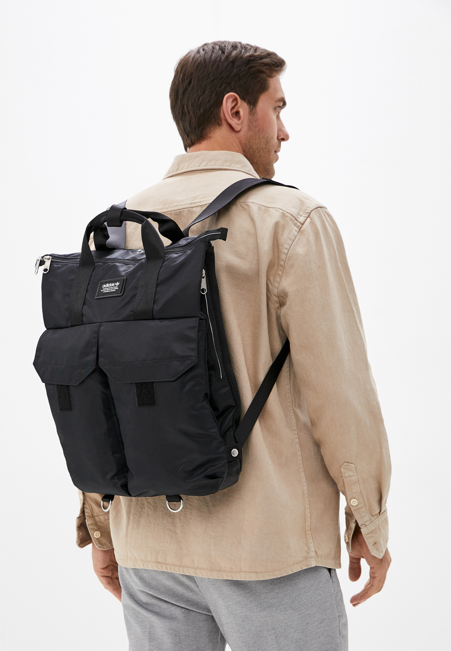 Спортивный рюкзак Adidas Originals (Адидас Ориджиналс) H22704: изображение 4