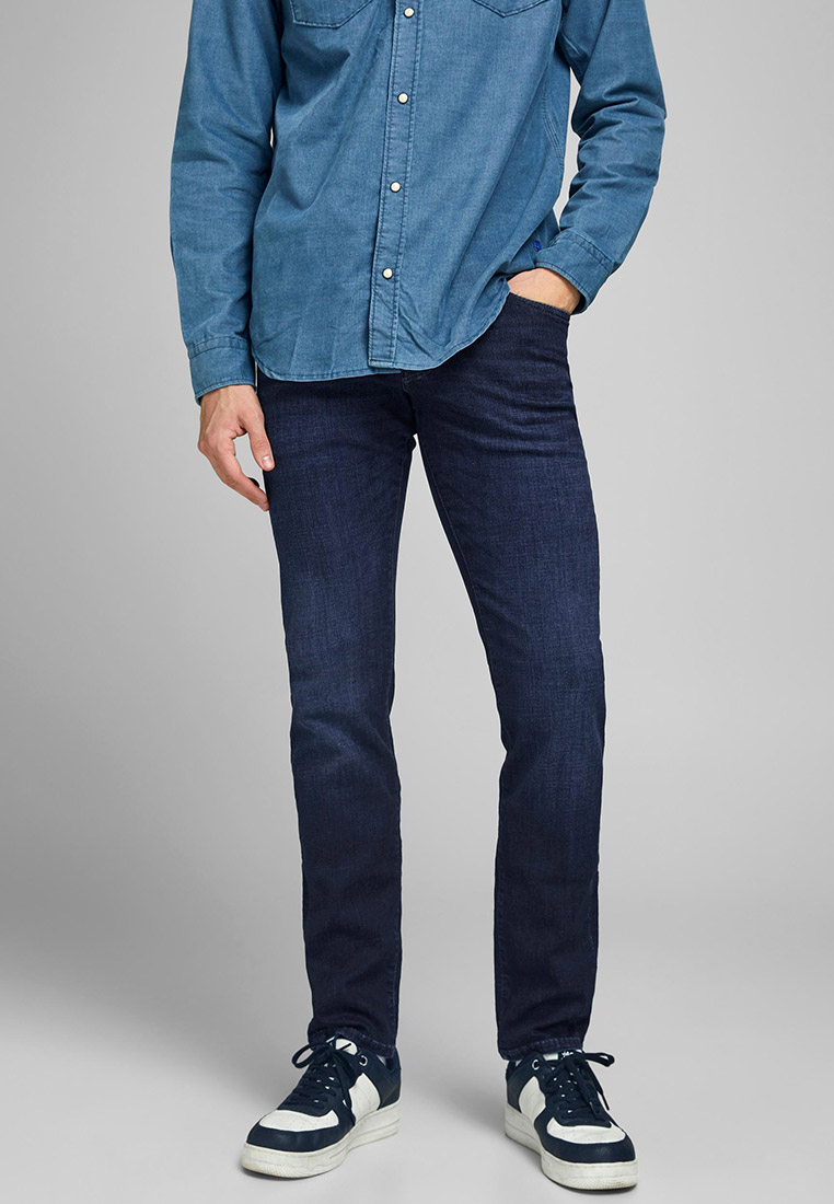 Мужские прямые джинсы Jack & Jones (Джек Энд Джонс) 12184390