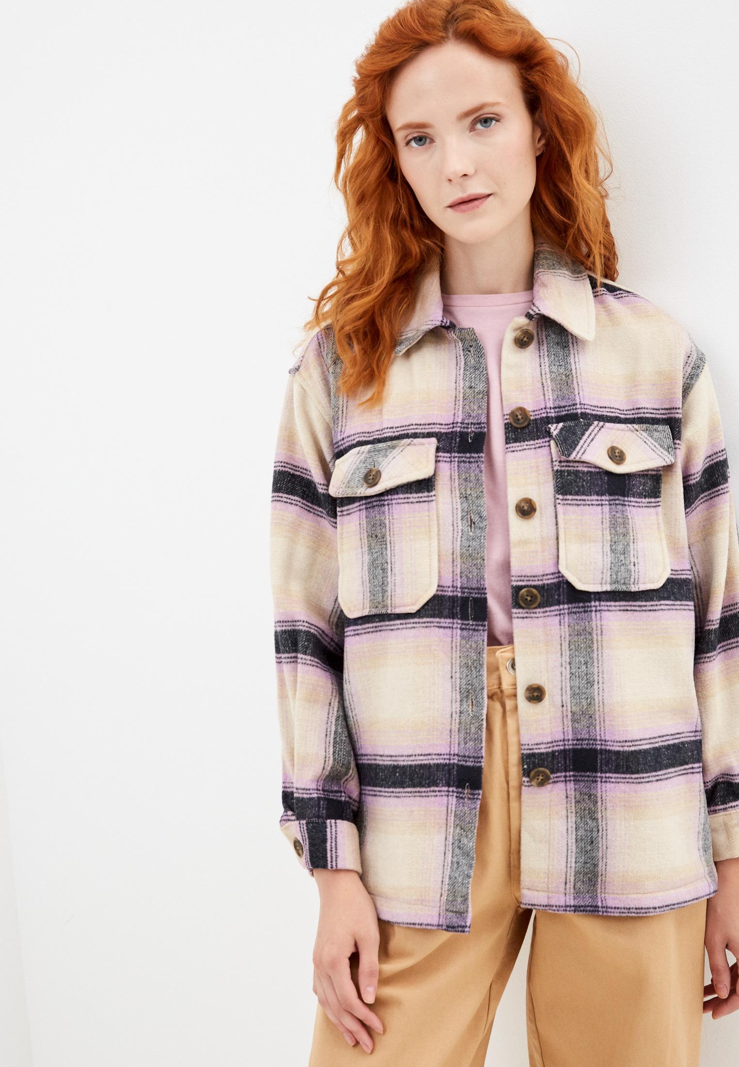 Женские рубашки с длинным рукавом Pieces 17115053