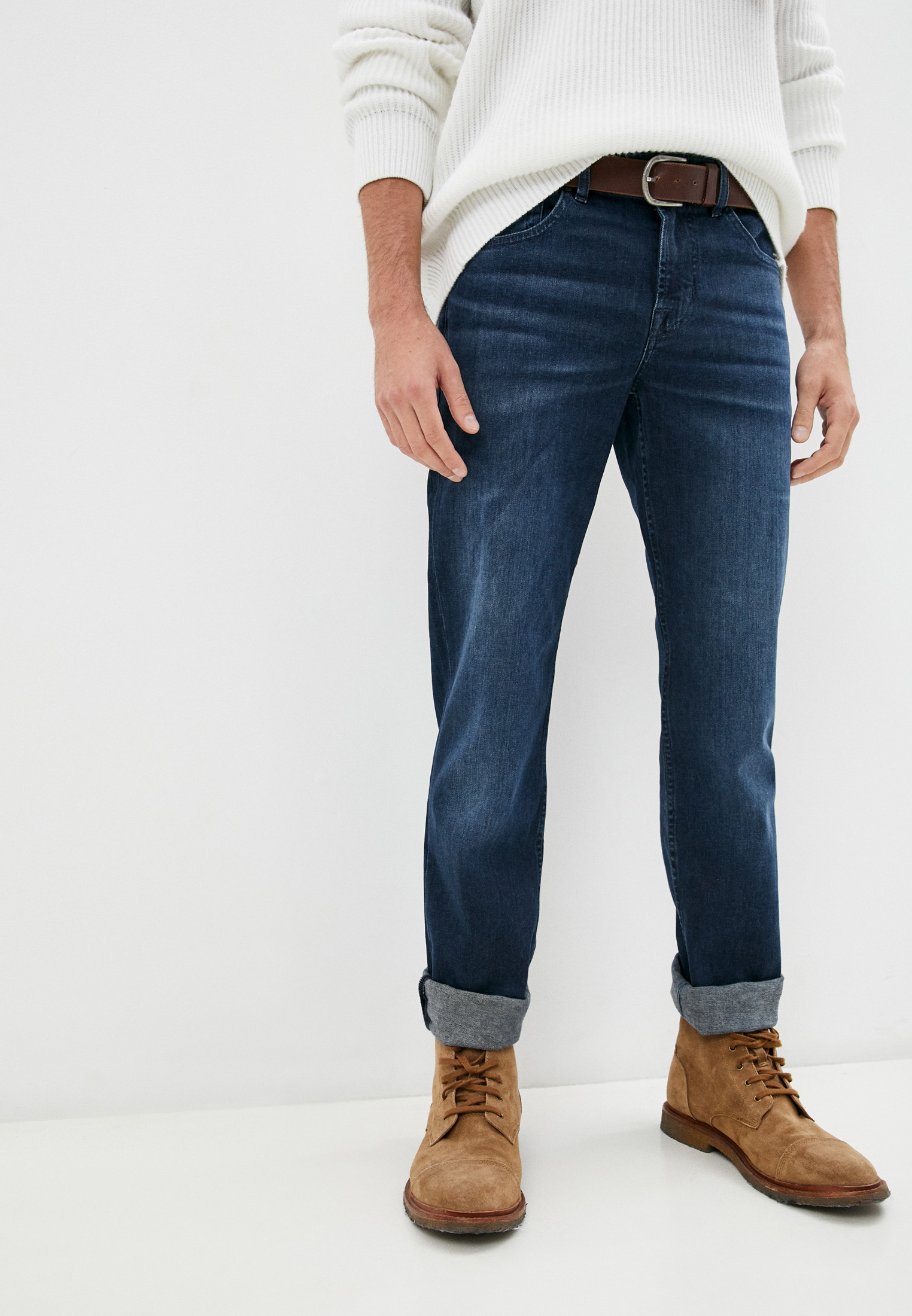 Мужские прямые джинсы 7 For All Mankind (7 Фо Олл Мэнкайнд) JSMSR460LL: изображение 1