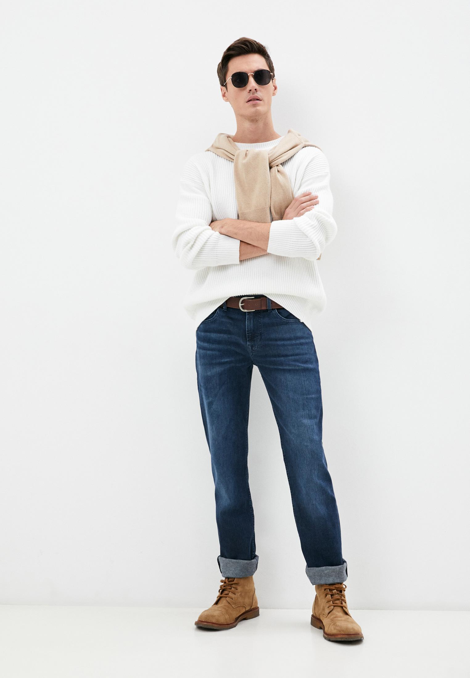 Мужские прямые джинсы 7 For All Mankind (7 Фо Олл Мэнкайнд) JSMSR460LL: изображение 3