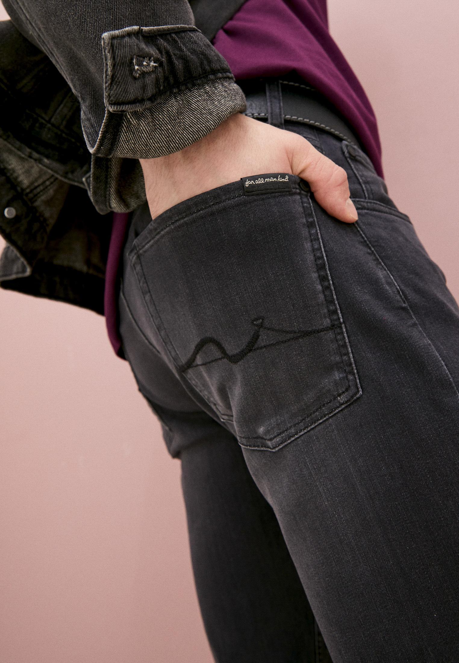 Мужские прямые джинсы 7 For All Mankind (7 Фо Олл Мэнкайнд) JSMSA240BB: изображение 2