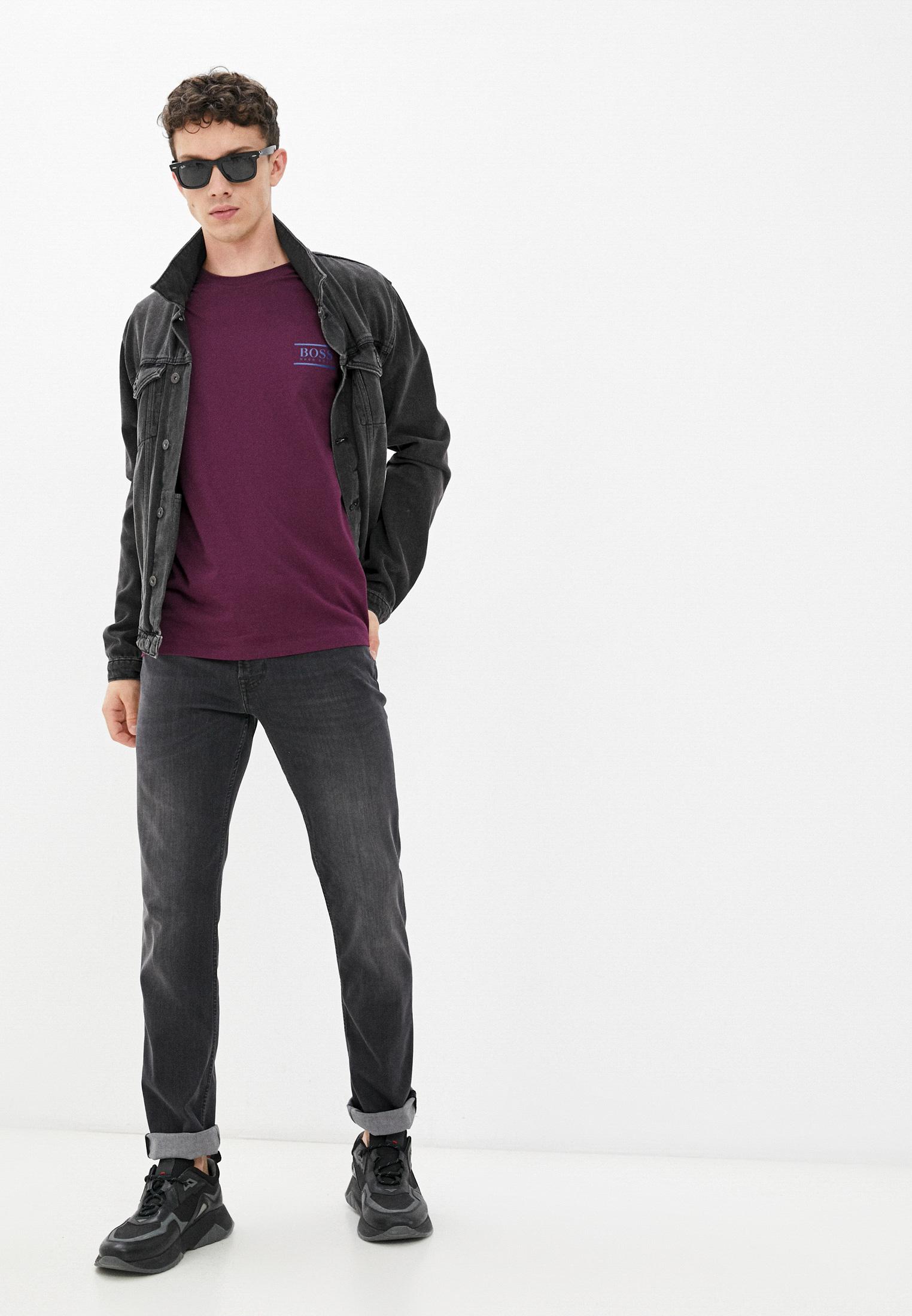 Мужские прямые джинсы 7 For All Mankind (7 Фо Олл Мэнкайнд) JSMSA240BB: изображение 3