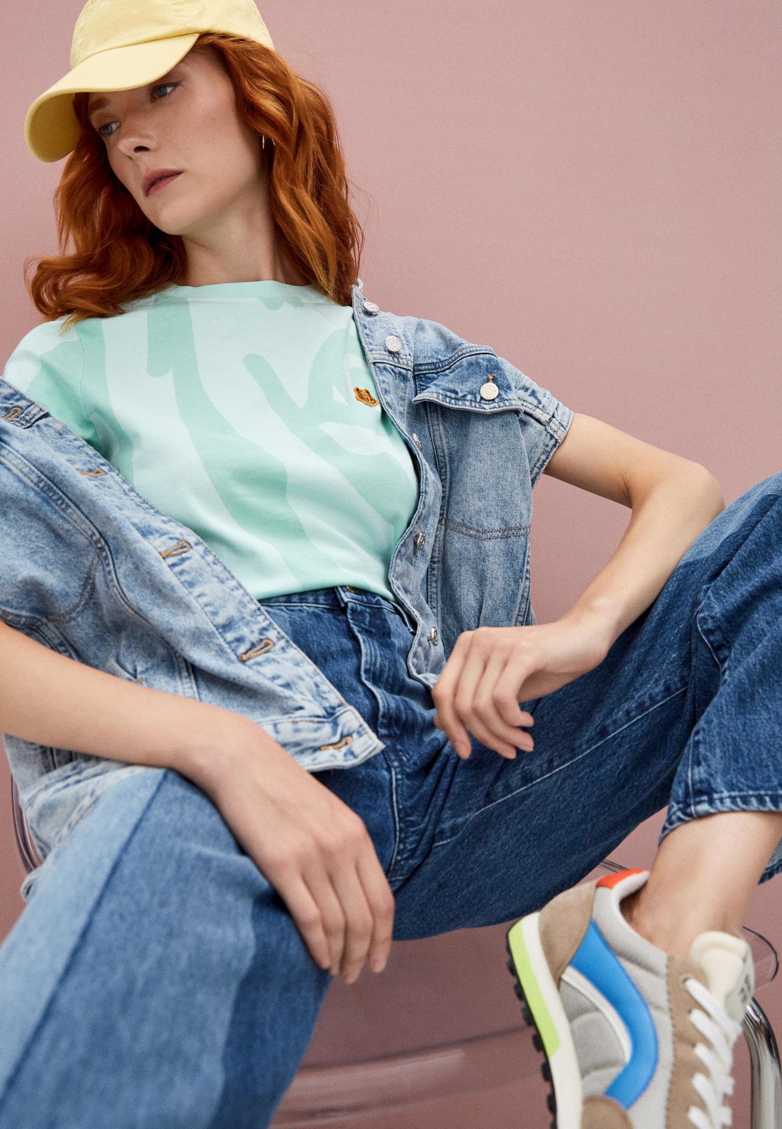 Широкие и расклешенные джинсы 7 For All Mankind (7 Фо Олл Мэнкайнд) JSP00660LS: изображение 2