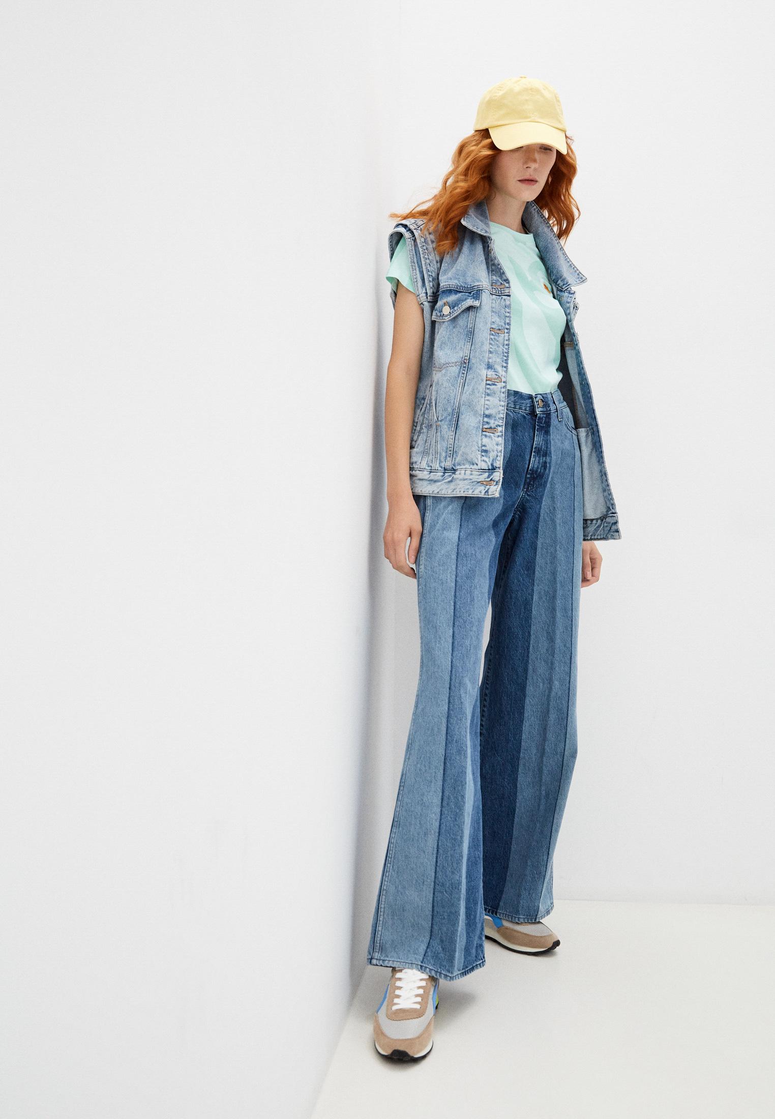 Широкие и расклешенные джинсы 7 For All Mankind (7 Фо Олл Мэнкайнд) JSP00660LS: изображение 3