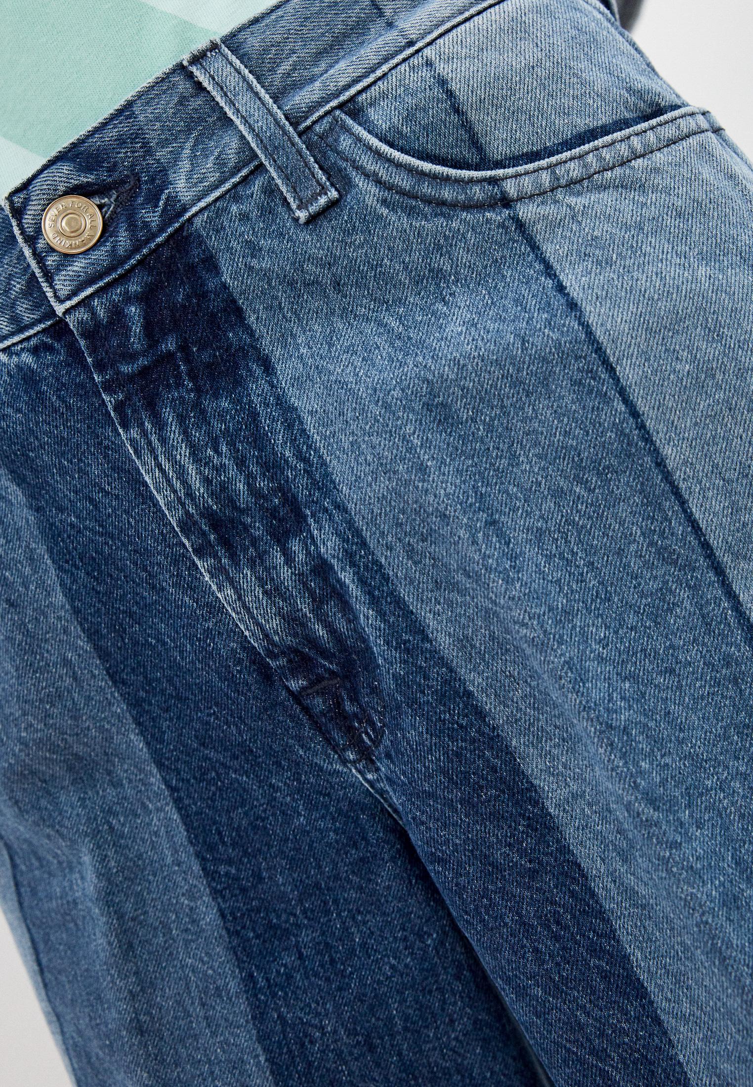 Широкие и расклешенные джинсы 7 For All Mankind (7 Фо Олл Мэнкайнд) JSP00660LS: изображение 5