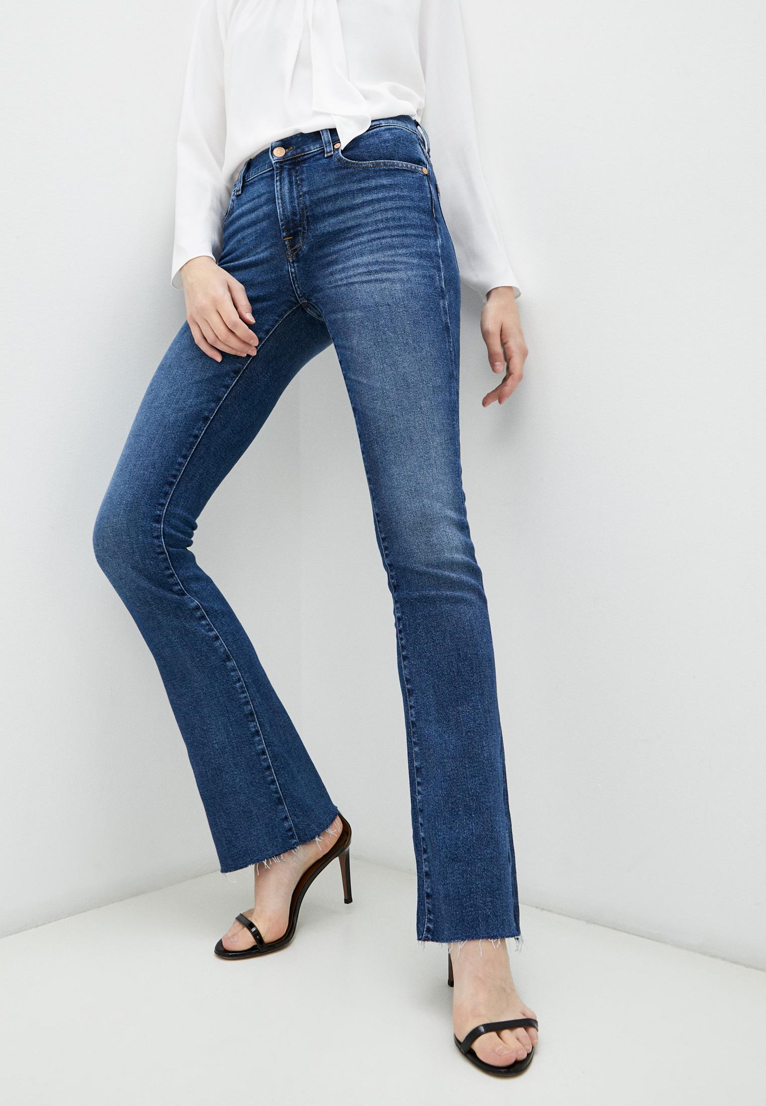 Широкие и расклешенные джинсы 7 For All Mankind (7 Фо Олл Мэнкайнд) JSWB1200RJ: изображение 1
