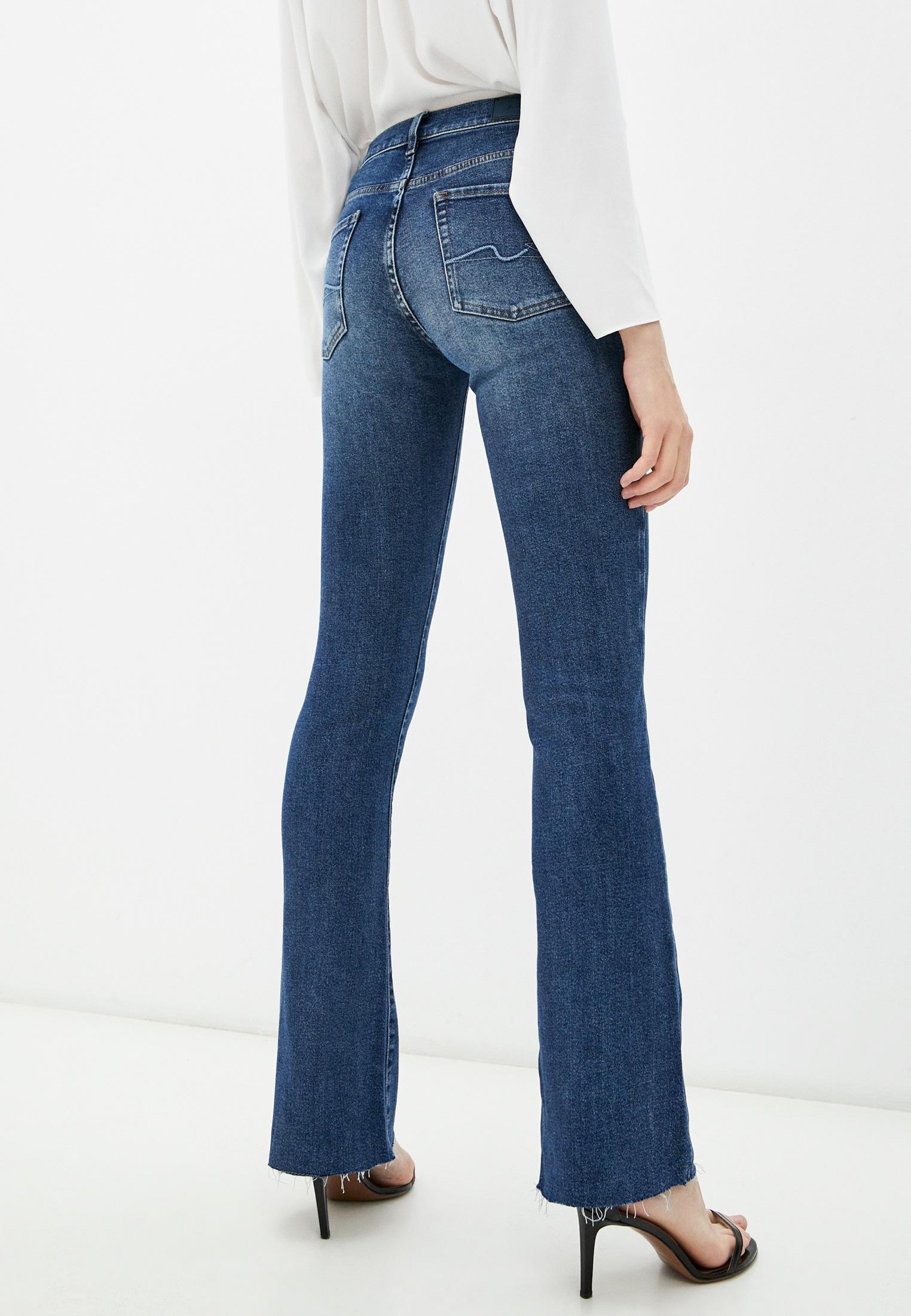 Широкие и расклешенные джинсы 7 For All Mankind (7 Фо Олл Мэнкайнд) JSWB1200RJ: изображение 4