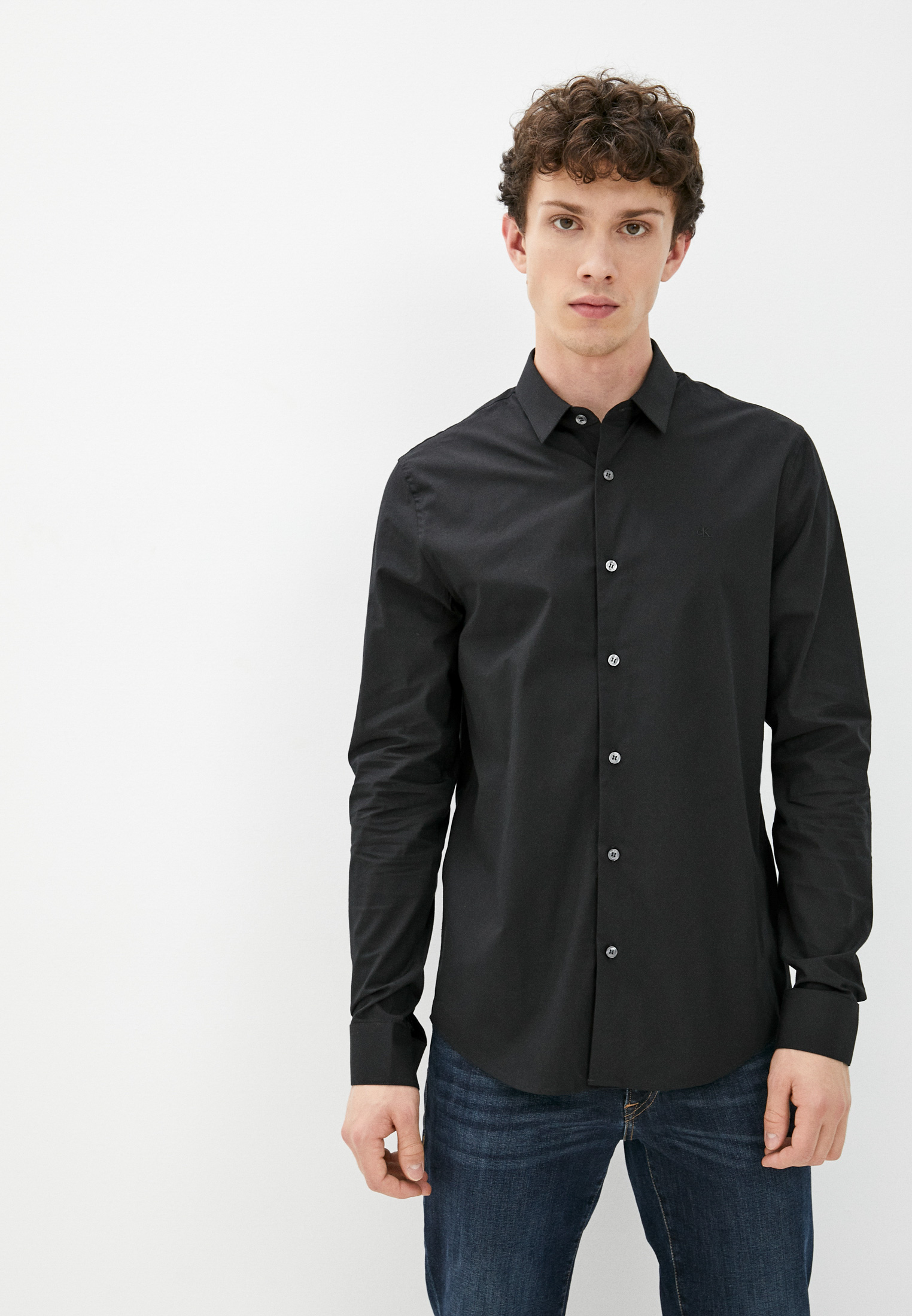 Рубашка с длинным рукавом Calvin Klein Jeans J30J319065