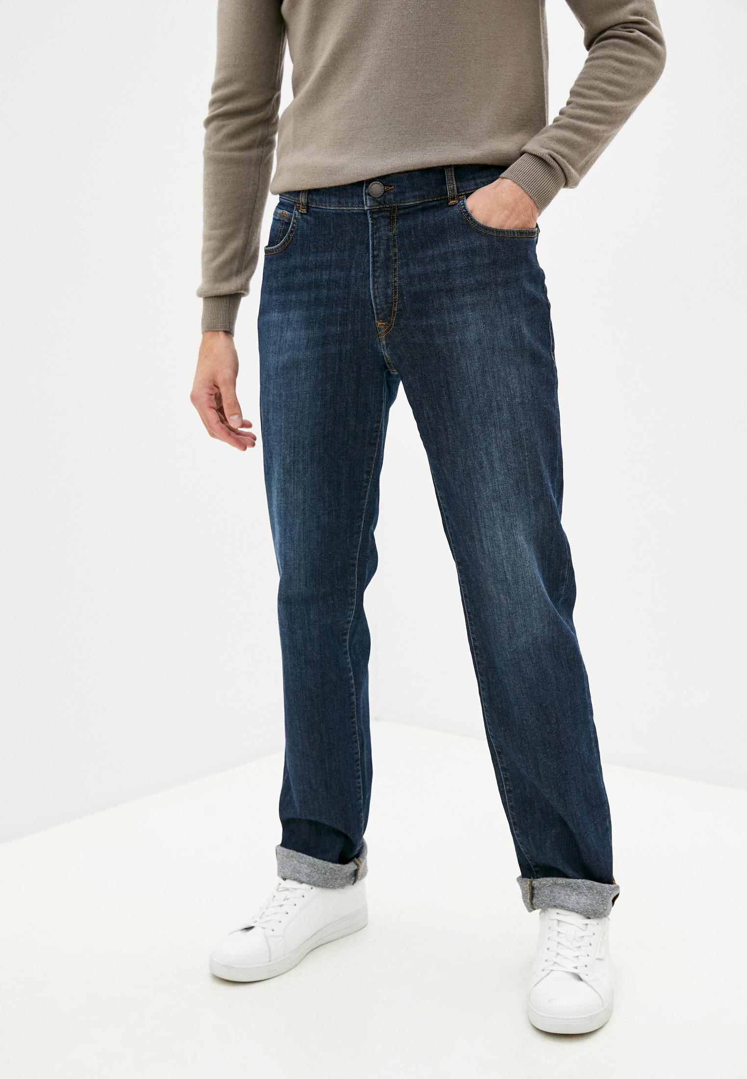Мужские прямые джинсы Trussardi (Труссарди) 52J00001-1Y000190