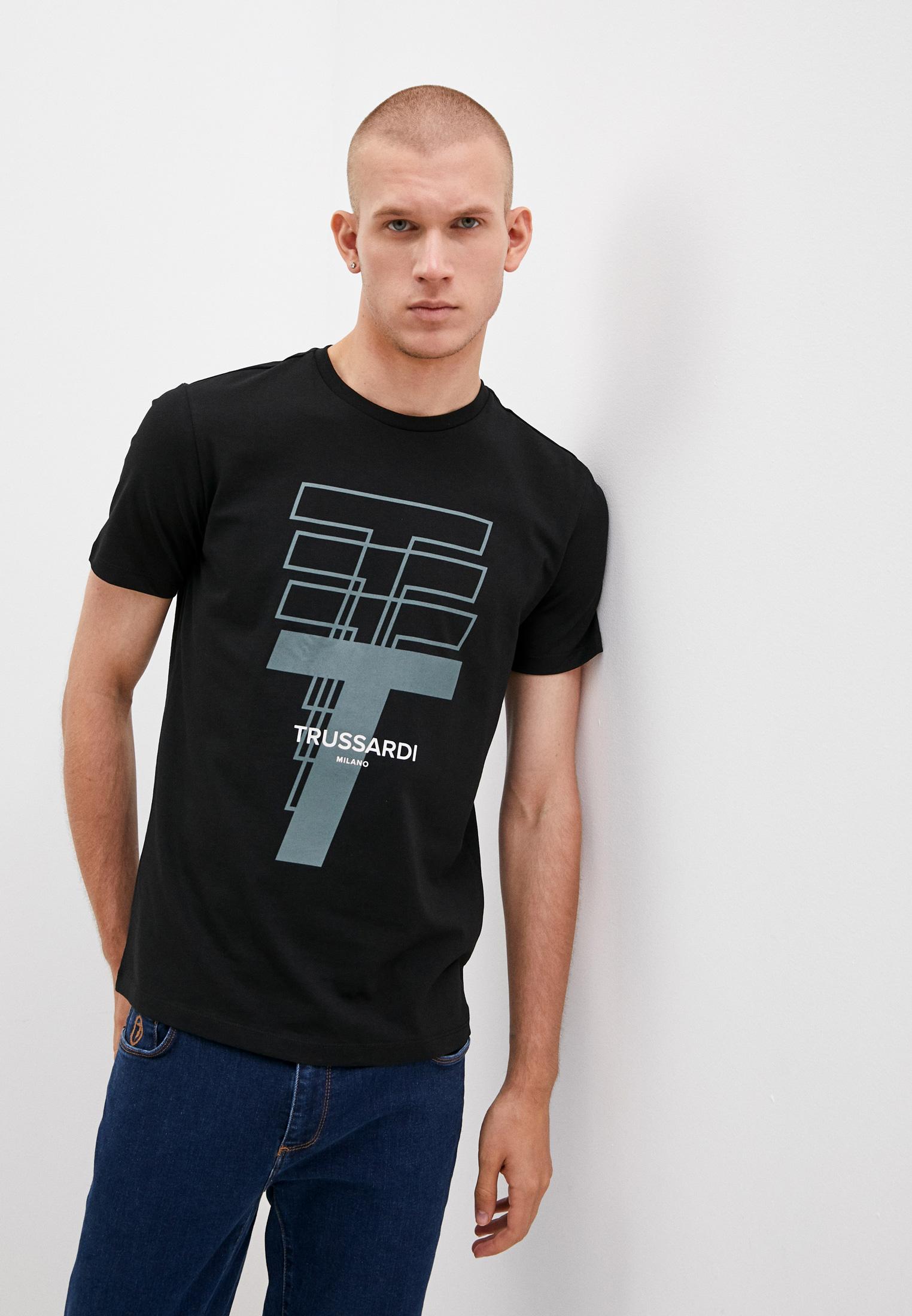 Мужская футболка Trussardi (Труссарди) 52T00522-1T005328