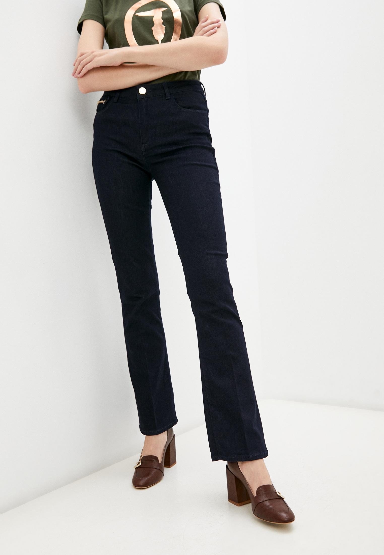 Широкие и расклешенные джинсы Trussardi (Труссарди) Джинсы Trussardi
