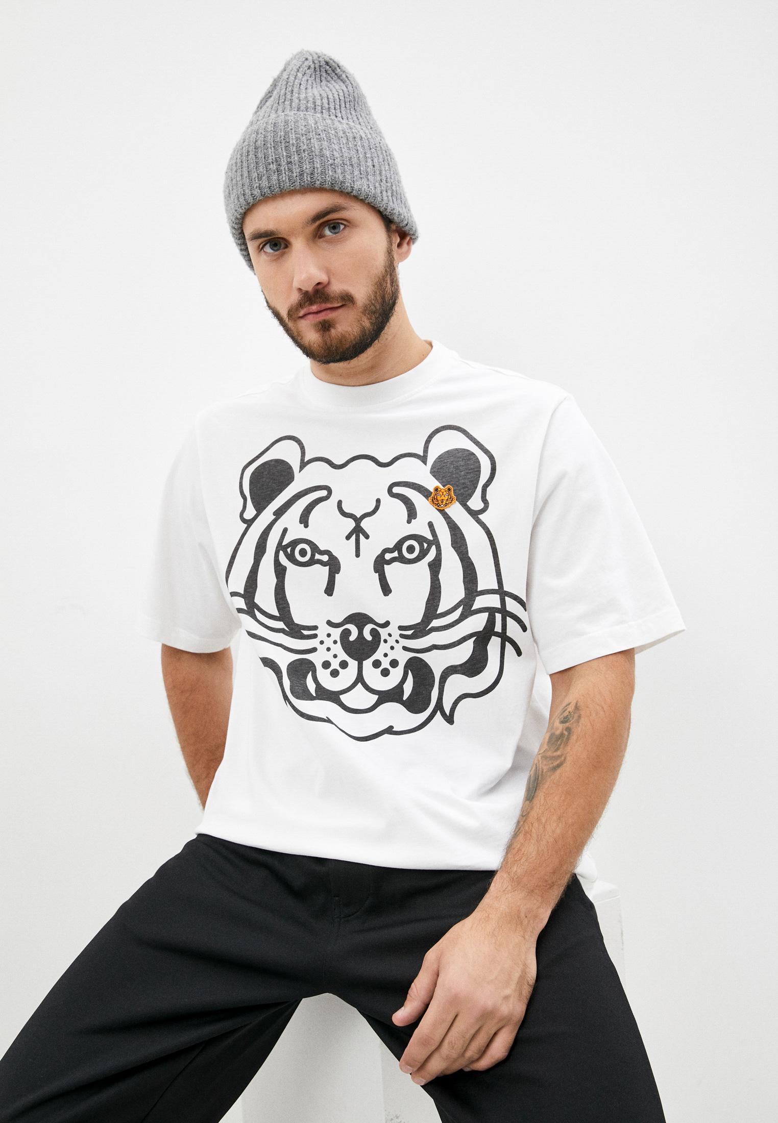 Мужская футболка Kenzo (Кензо) FB65TS5224SA