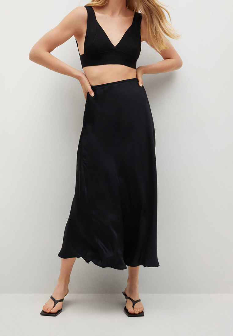 Широкая юбка Mango (Манго) 17942020: изображение 1