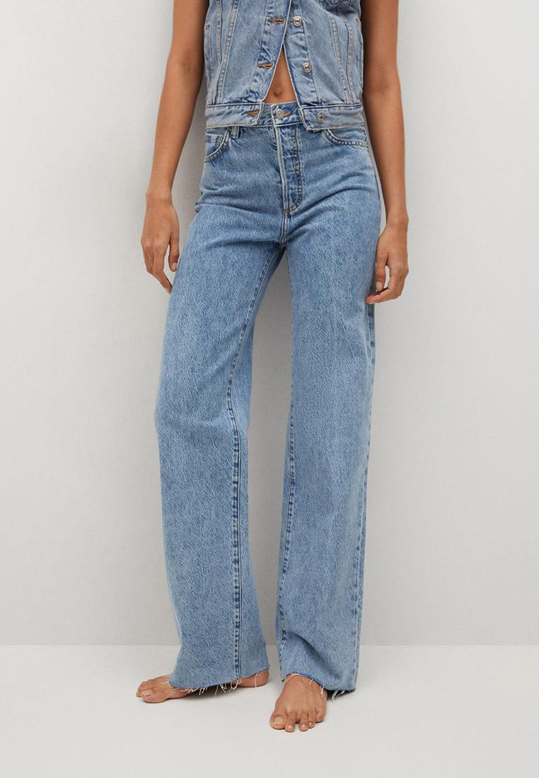 Широкие и расклешенные джинсы Mango (Манго) Джинсы Mango