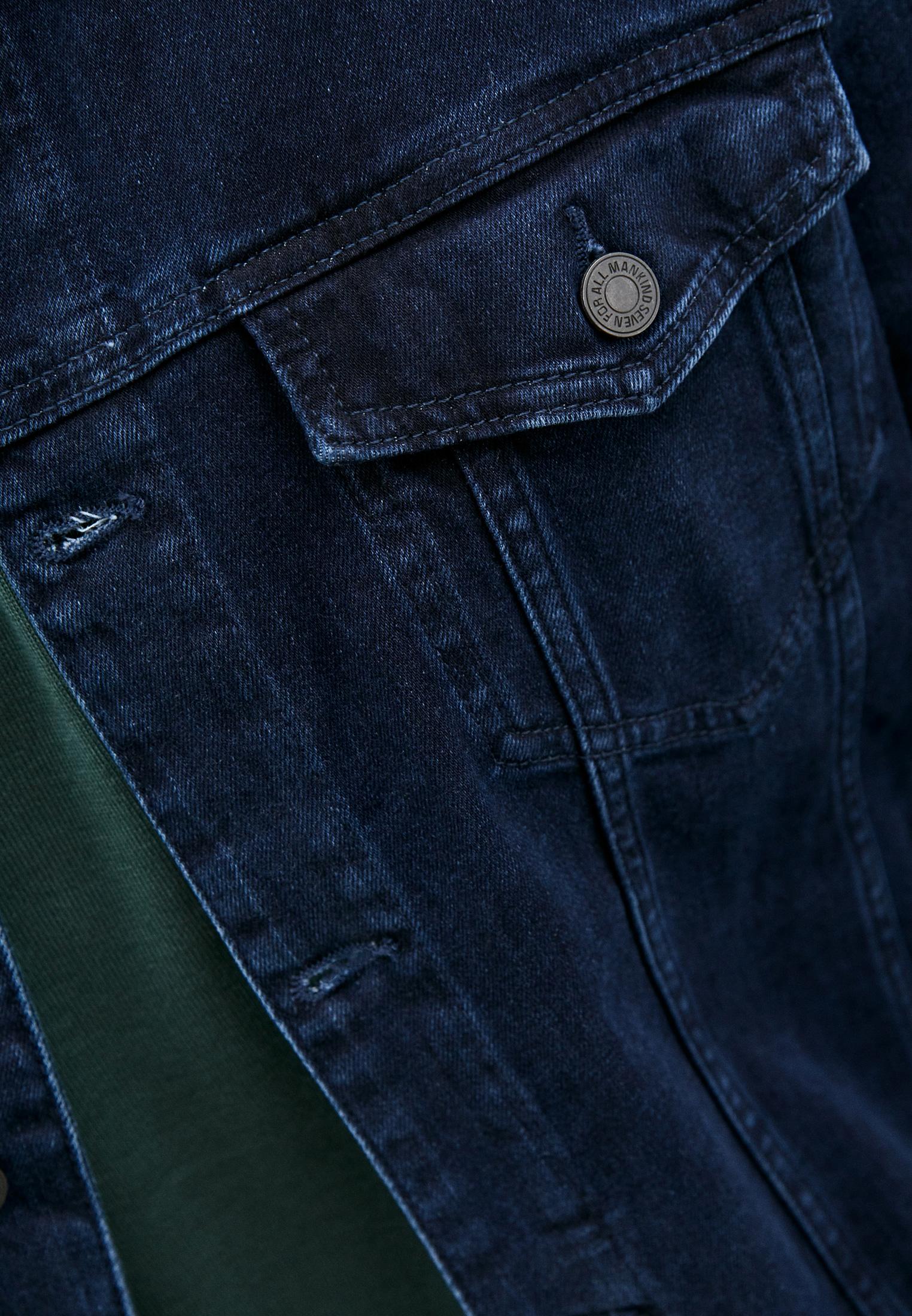 Джинсовая куртка 7 For All Mankind (7 Фо Олл Мэнкайнд) JSK5R460LL: изображение 5