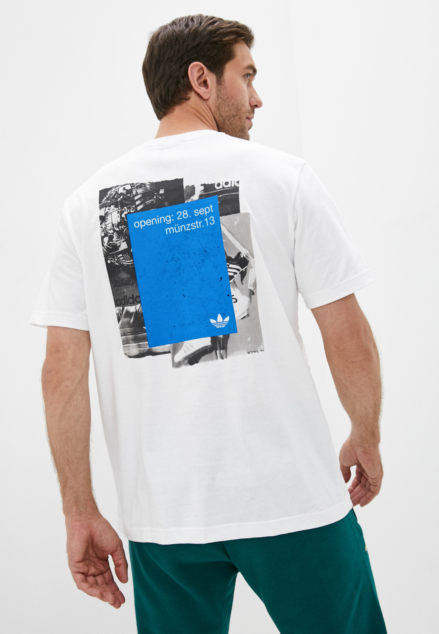 Футболка Adidas Originals (Адидас Ориджиналс) H13523: изображение 1