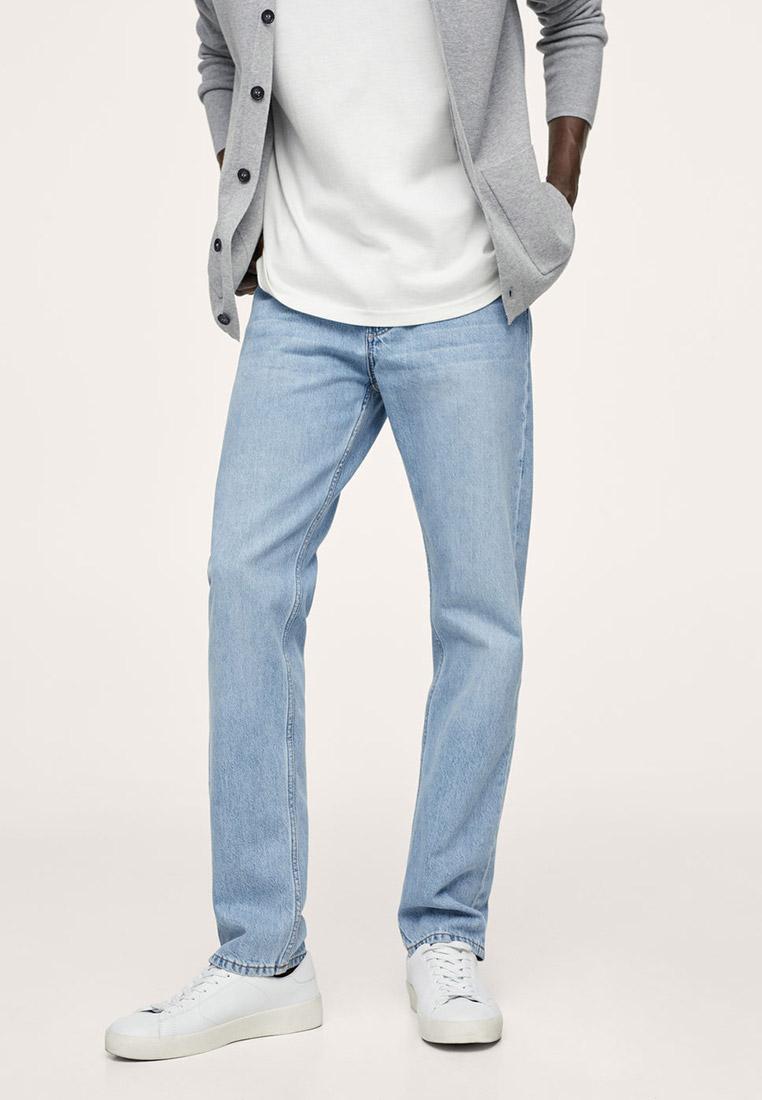 Мужские прямые джинсы Mango Man 17002521