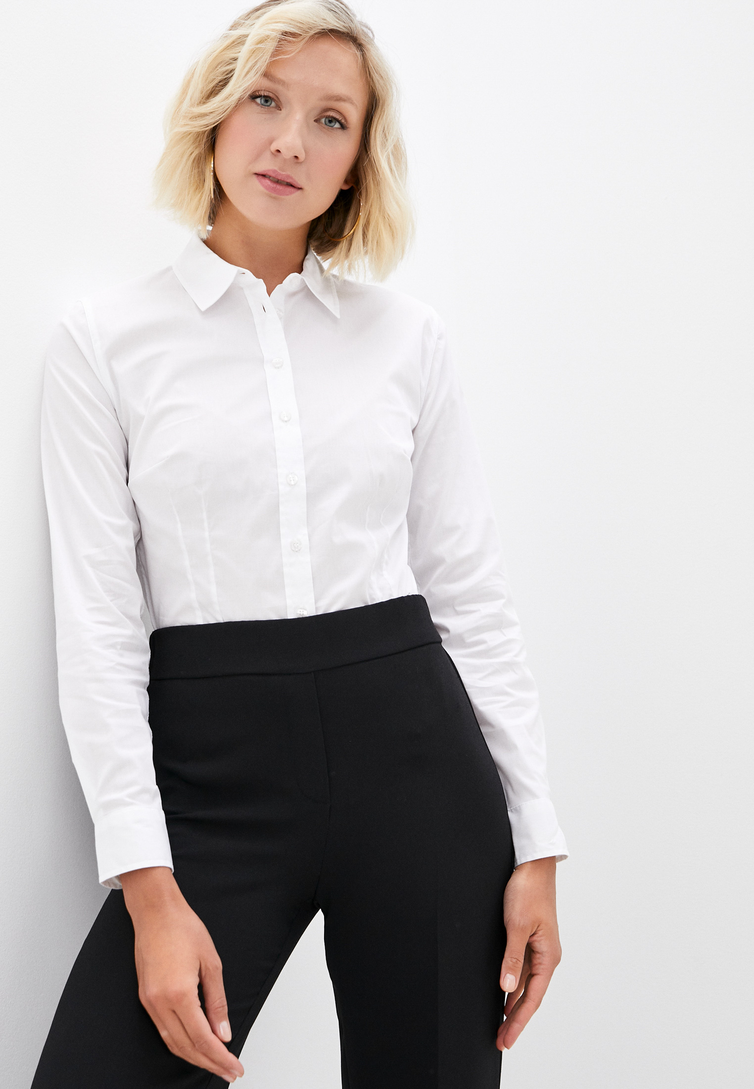 Женские рубашки с длинным рукавом Pepe Jeans (Пепе Джинс) PL304060