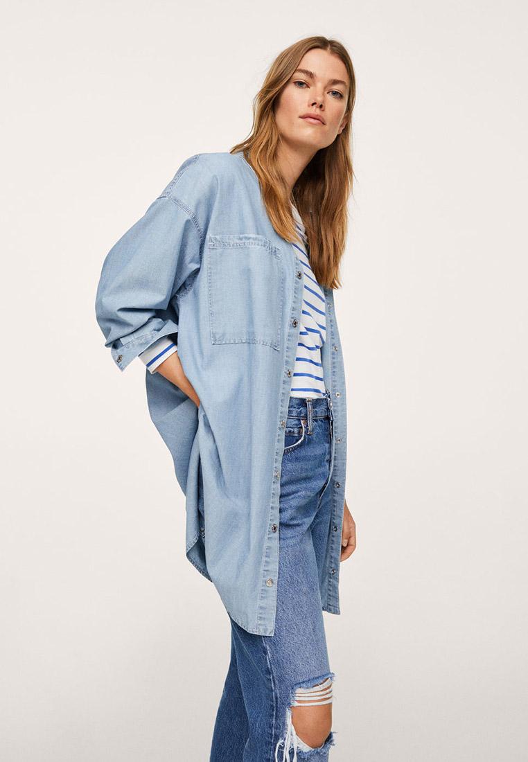 Женские джинсовые рубашки Mango (Манго) 17084390