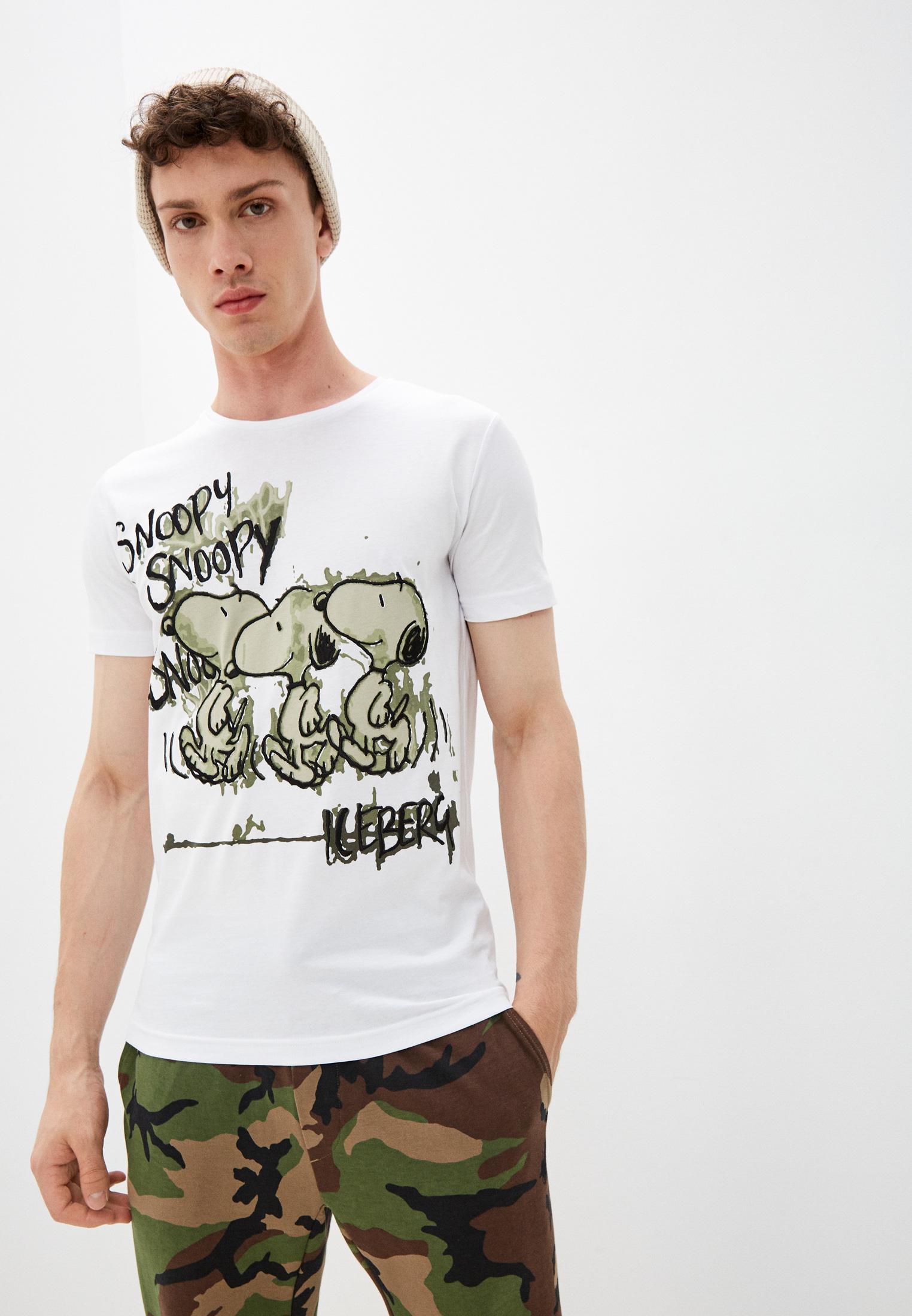 Мужская футболка Iceberg (Айсберг) I1PF0126301