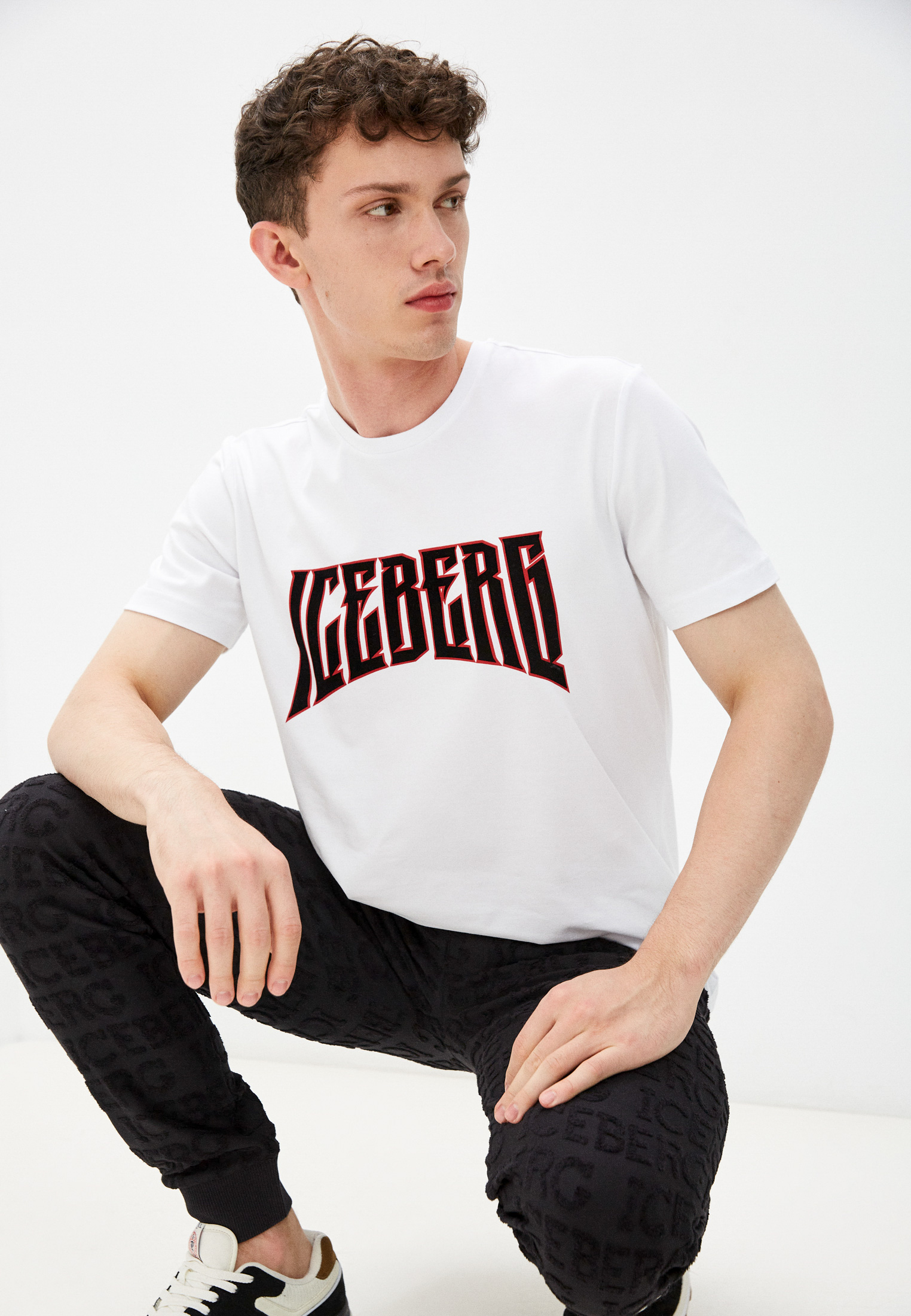 Мужская футболка Iceberg (Айсберг) I1PF0256309