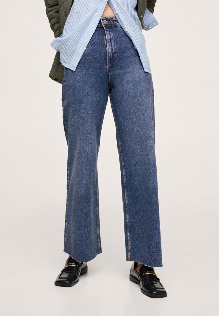 Широкие и расклешенные джинсы Mango (Манго) 17013766