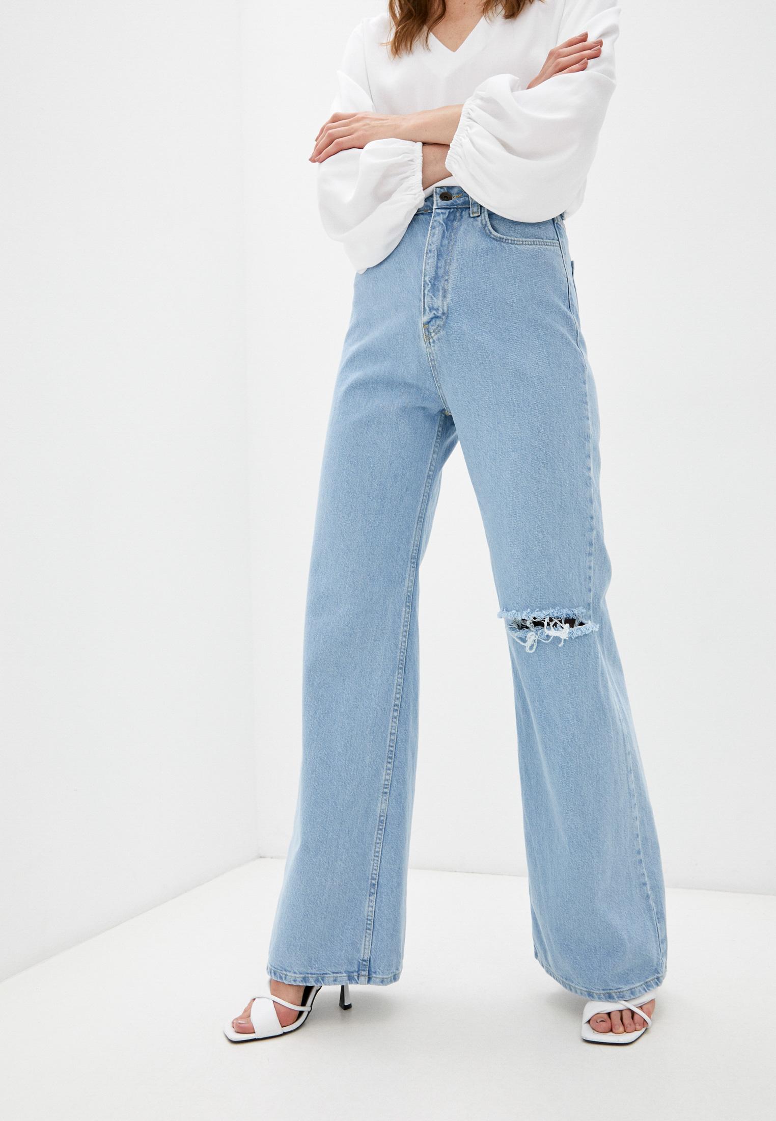 Широкие и расклешенные джинсы NWC New Youth Club 5NW.KK03602.