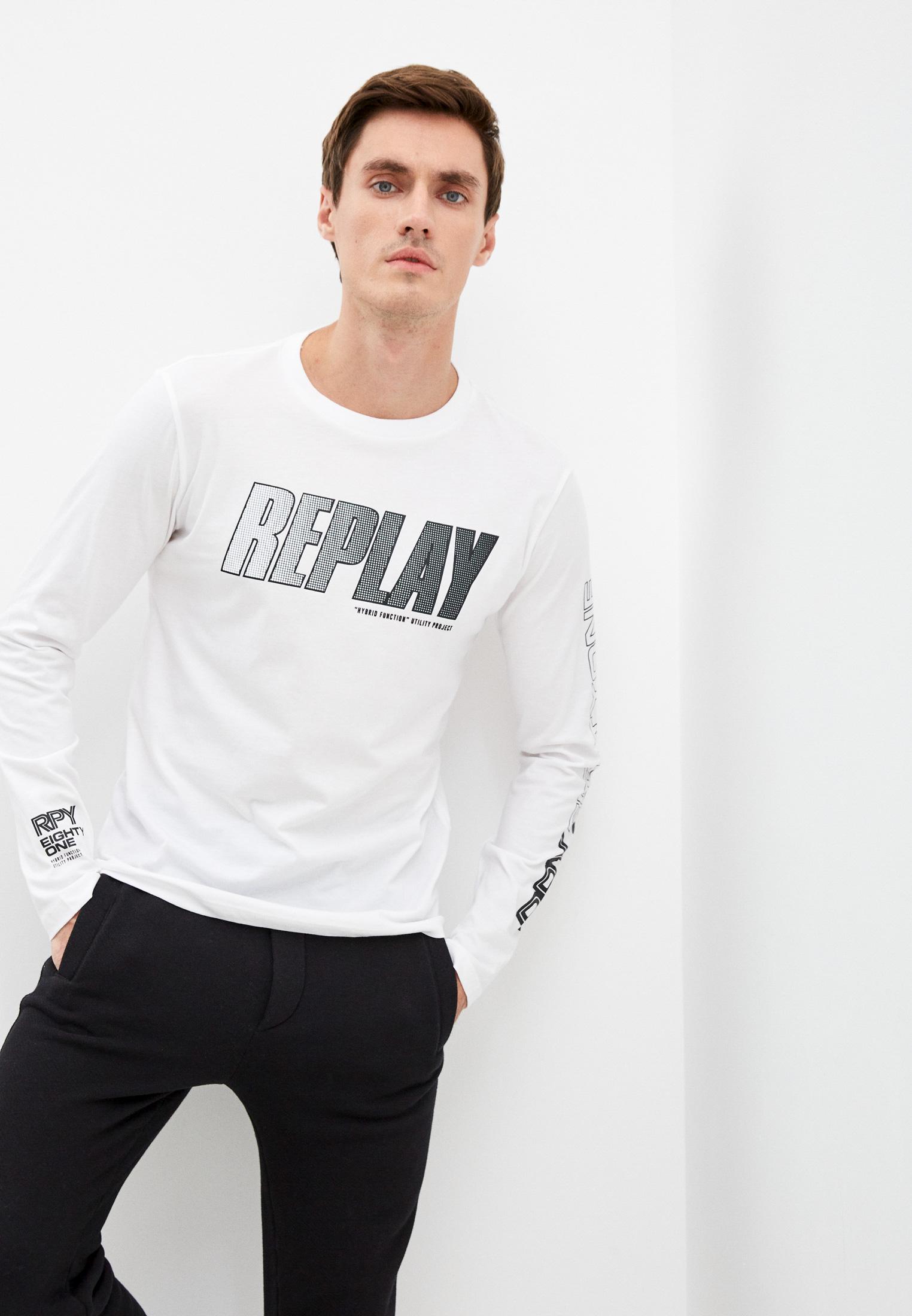 Футболка с длинным рукавом Replay (Реплей) Лонгслив Replay