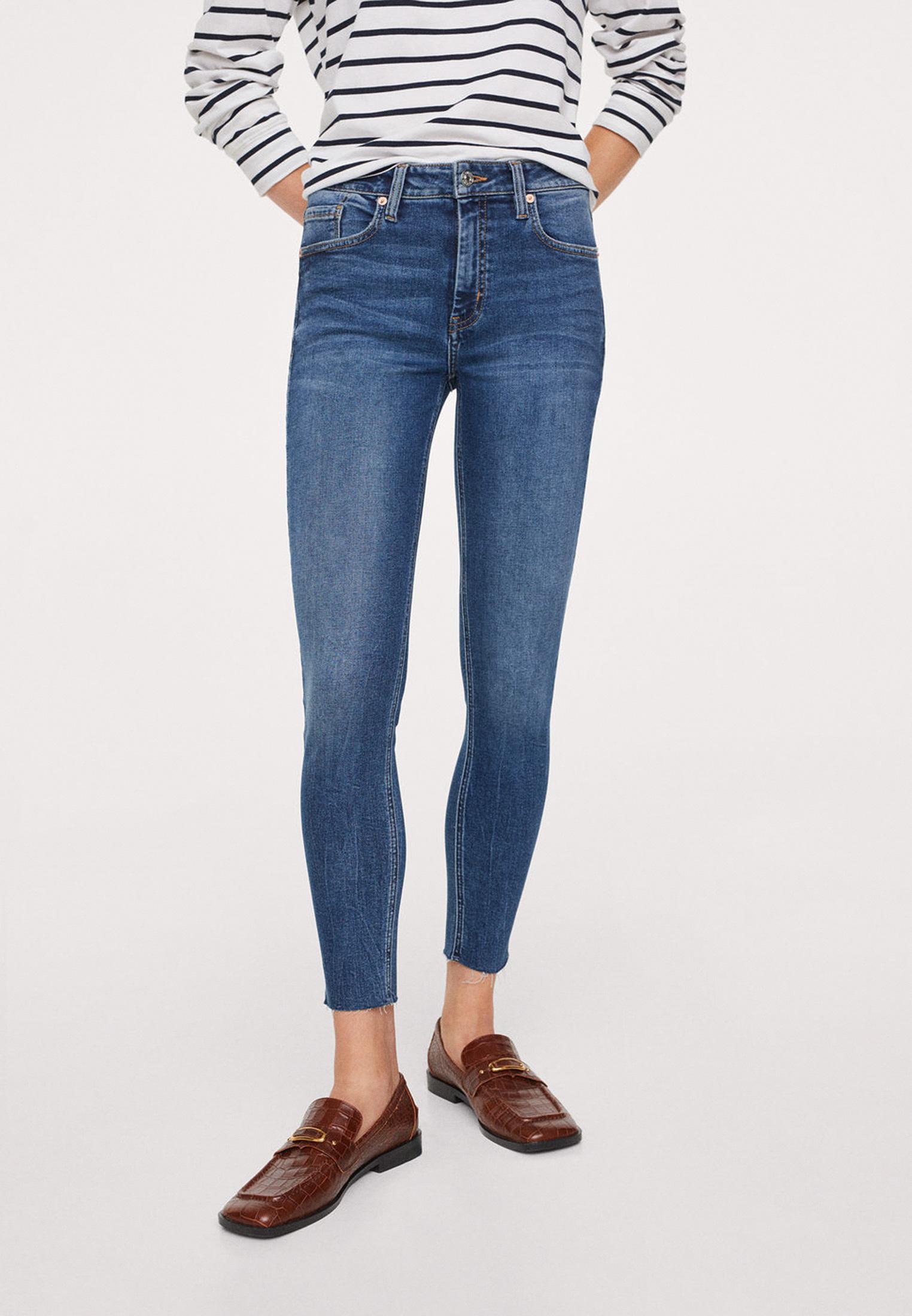 Зауженные джинсы Mango (Манго) 17034378