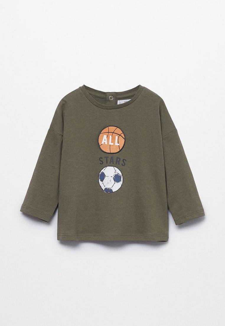 Футболка с длинным рукавом Mango Kids (Манго Кидс) 17023261