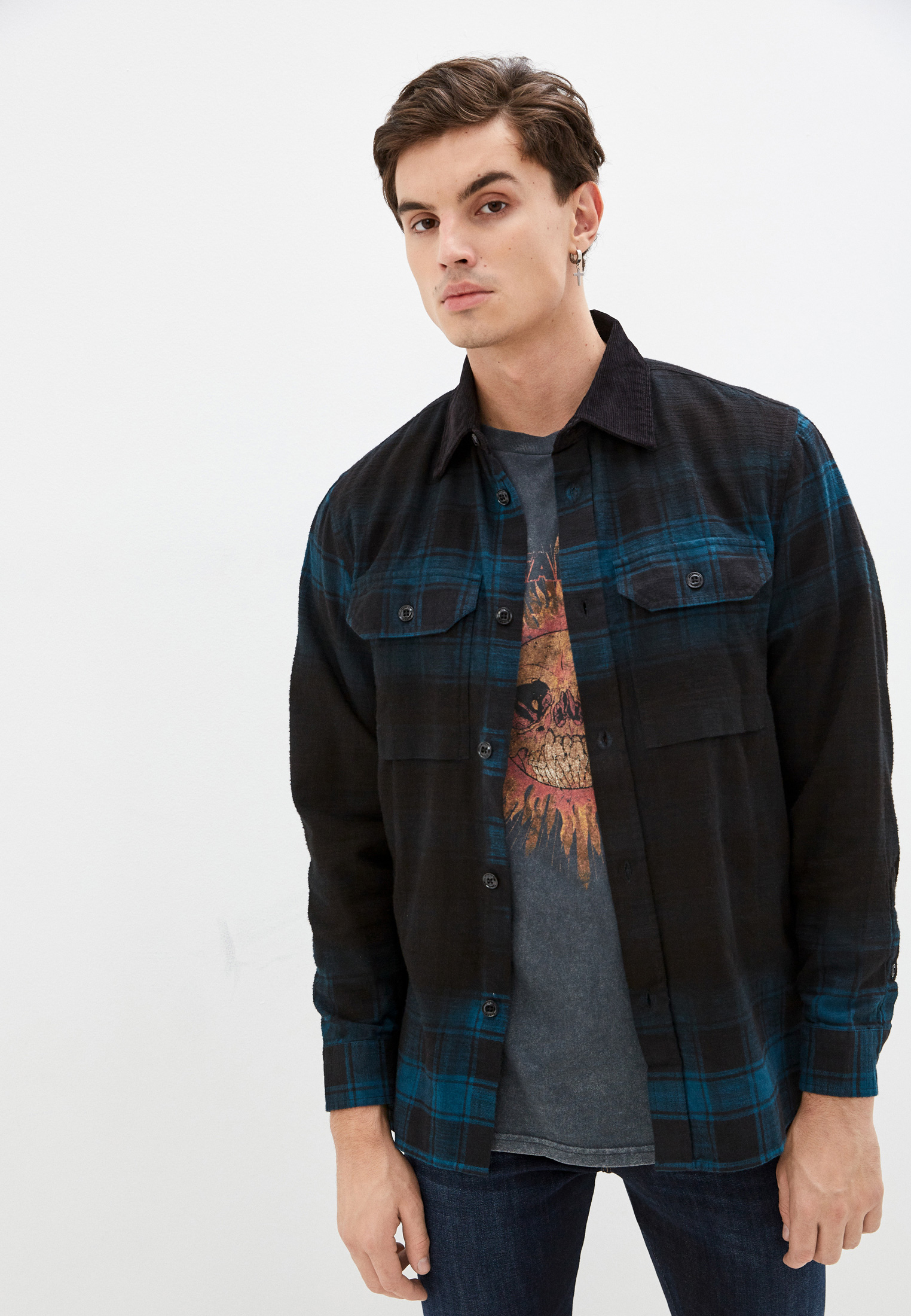 Рубашка с длинным рукавом Diesel (Дизель) Рубашка Diesel