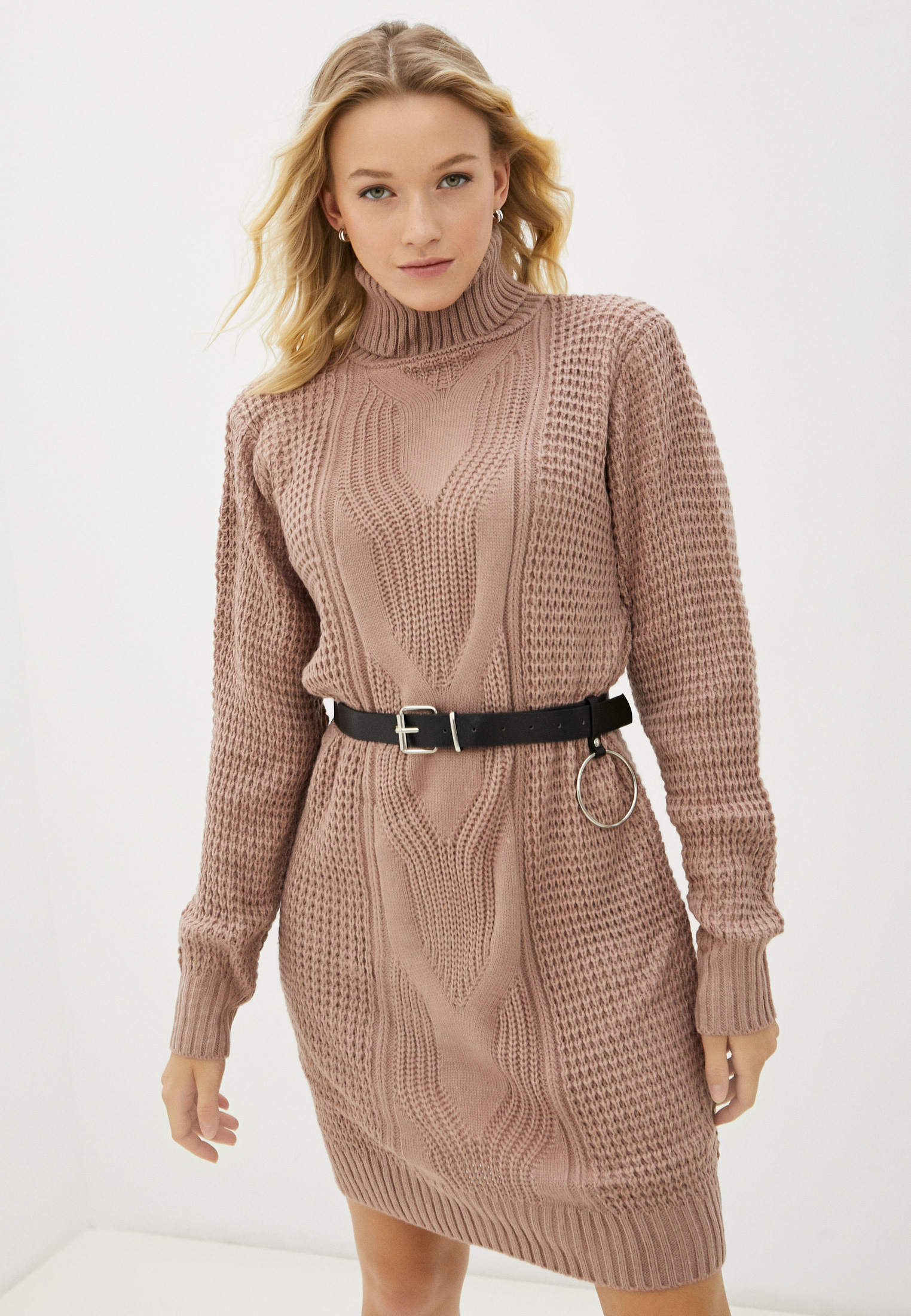 Вязаное платье Pink Summer PS22-0337-4