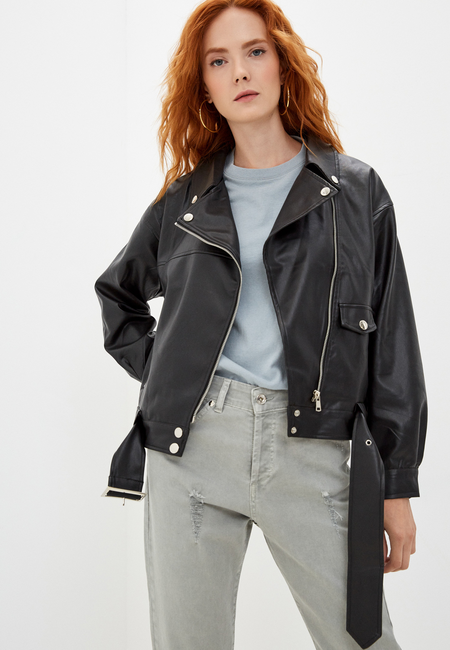 Кожаная куртка Diverius 10358d