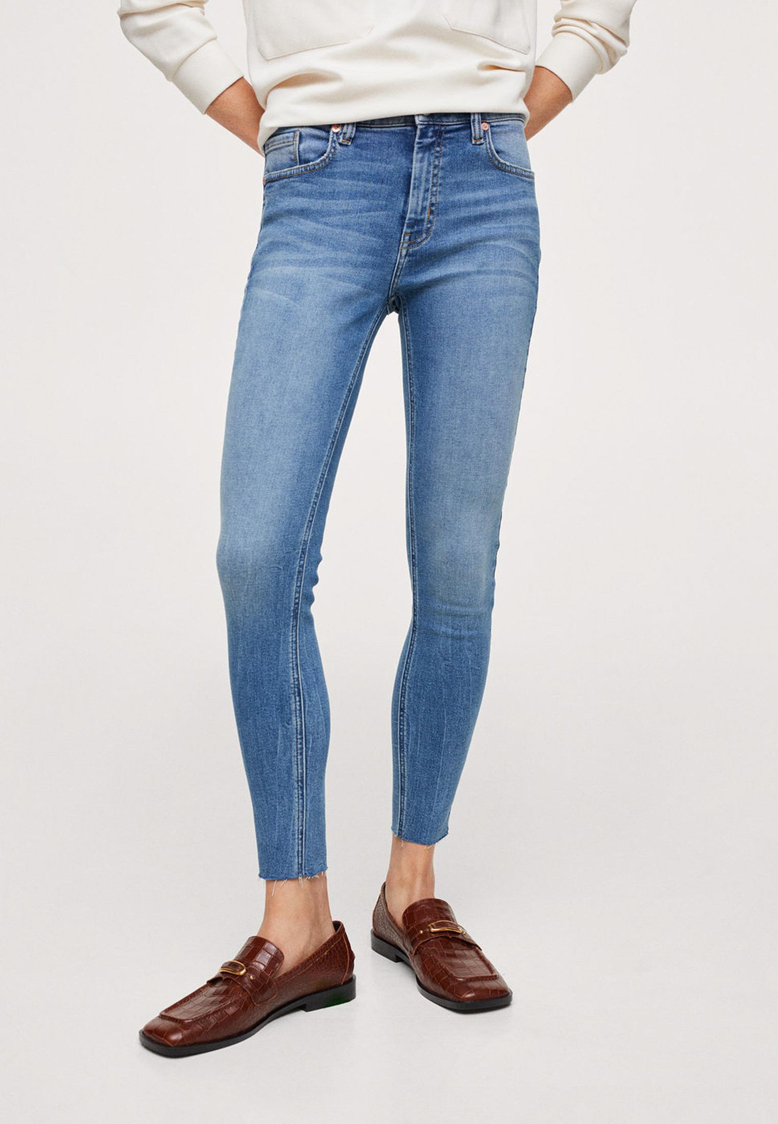 Зауженные джинсы Mango (Манго) 17064377