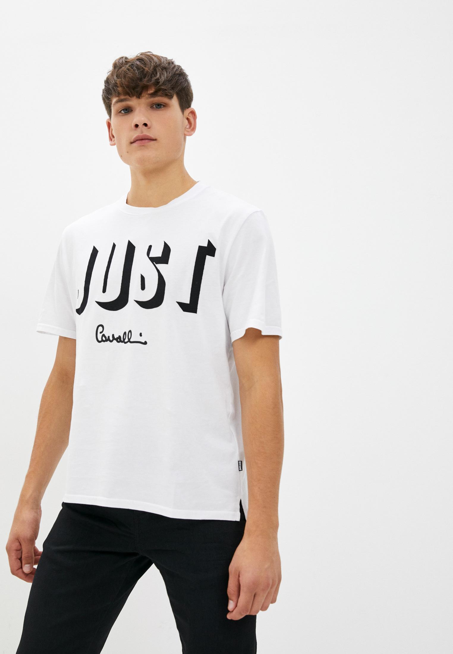 Мужская футболка Just Cavalli (Джаст Кавалли) S03GC0470N20663100
