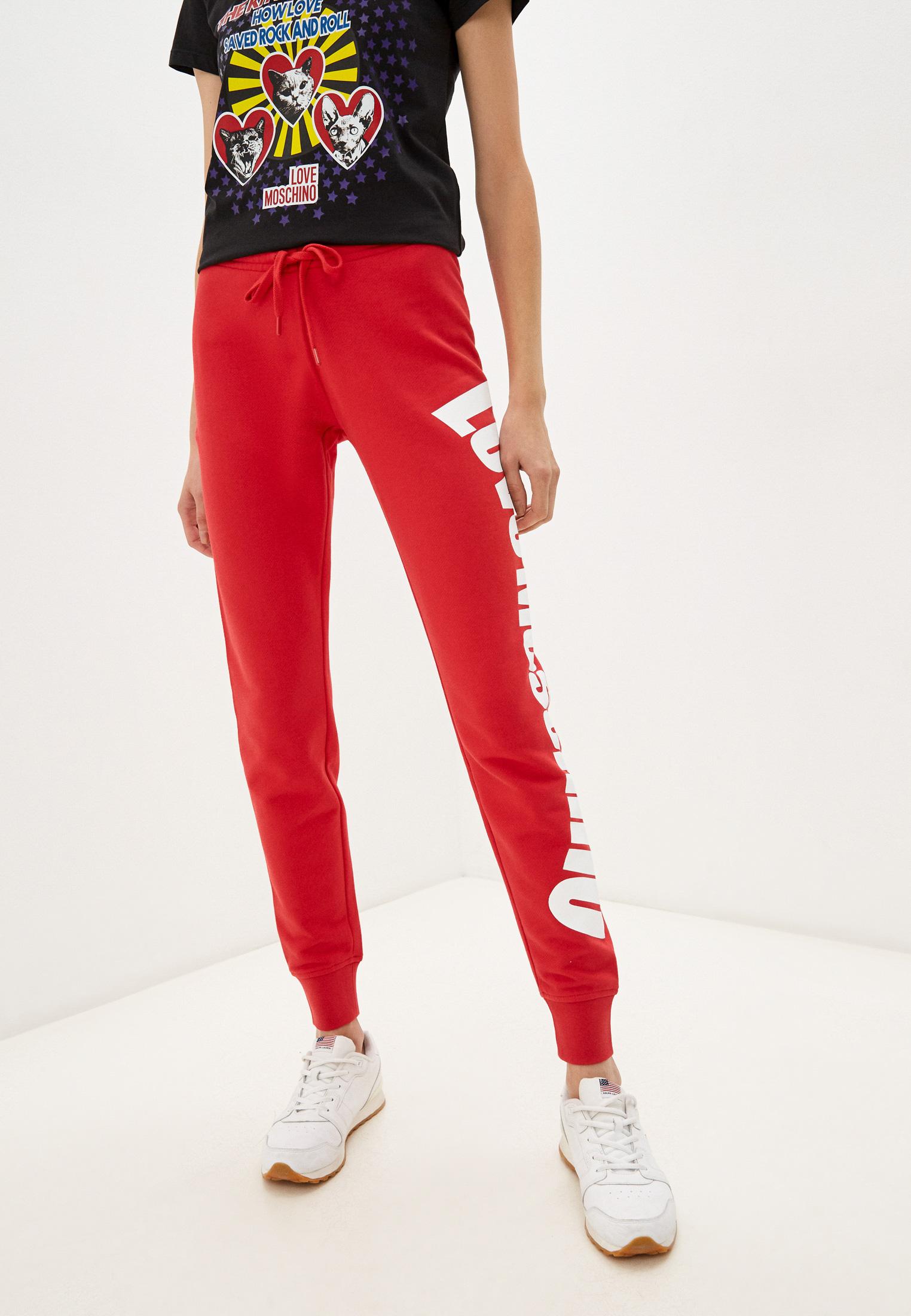 Женские спортивные брюки Love Moschino (Лав Москино) W 1 424 18 M 4055