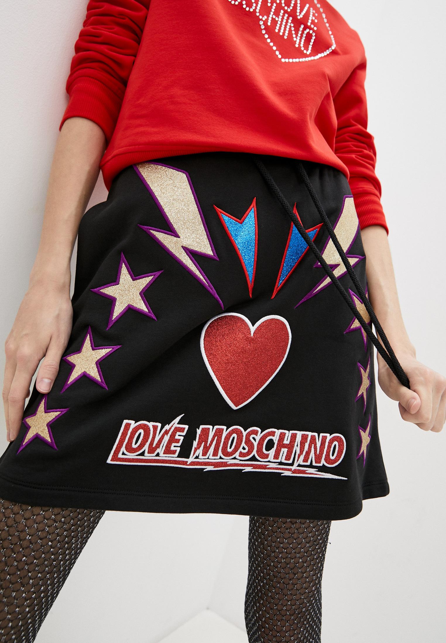 Широкая юбка Love Moschino Юбка Love Moschino