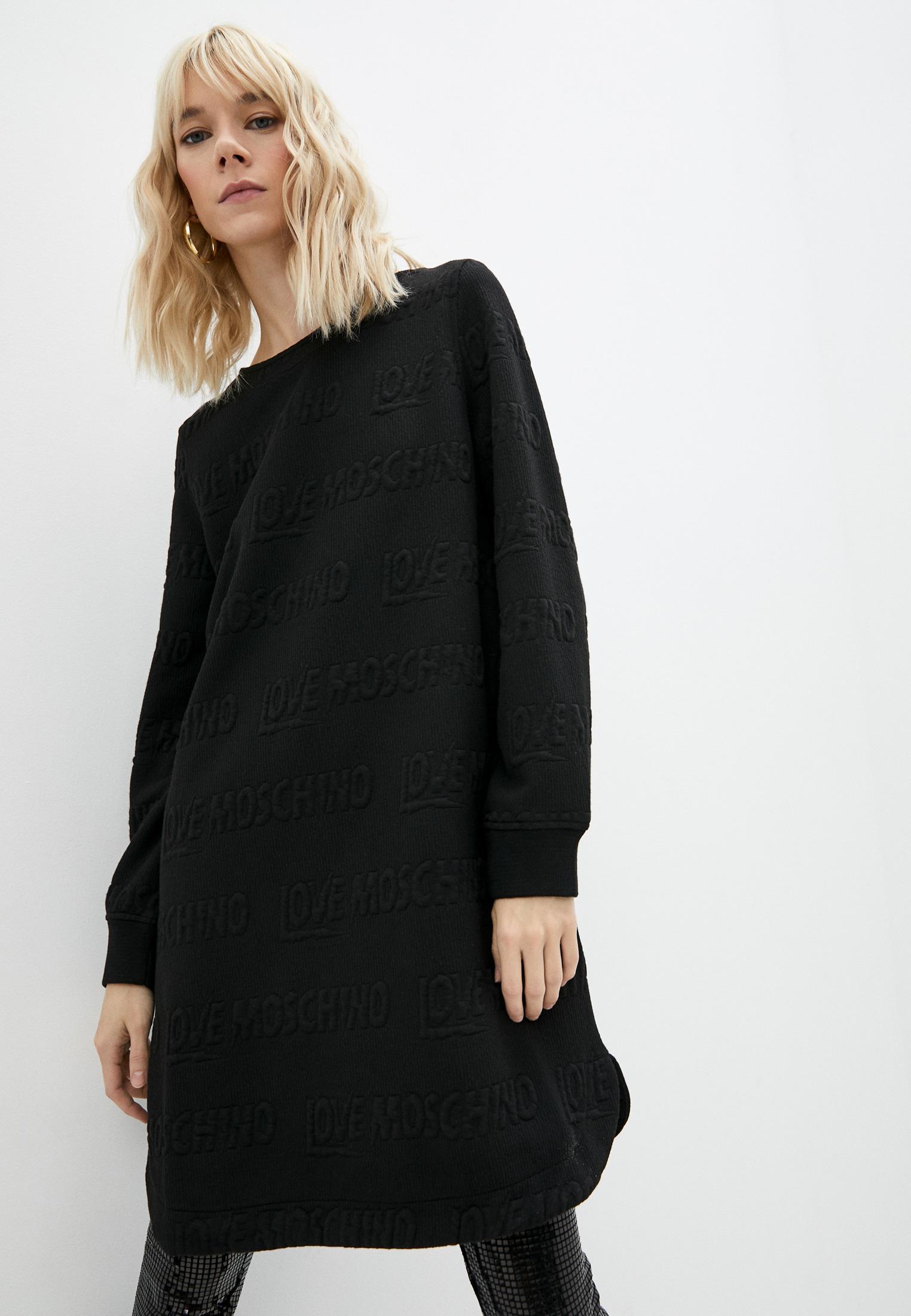 Вязаное платье Love Moschino W 5 B97 00 E 2194