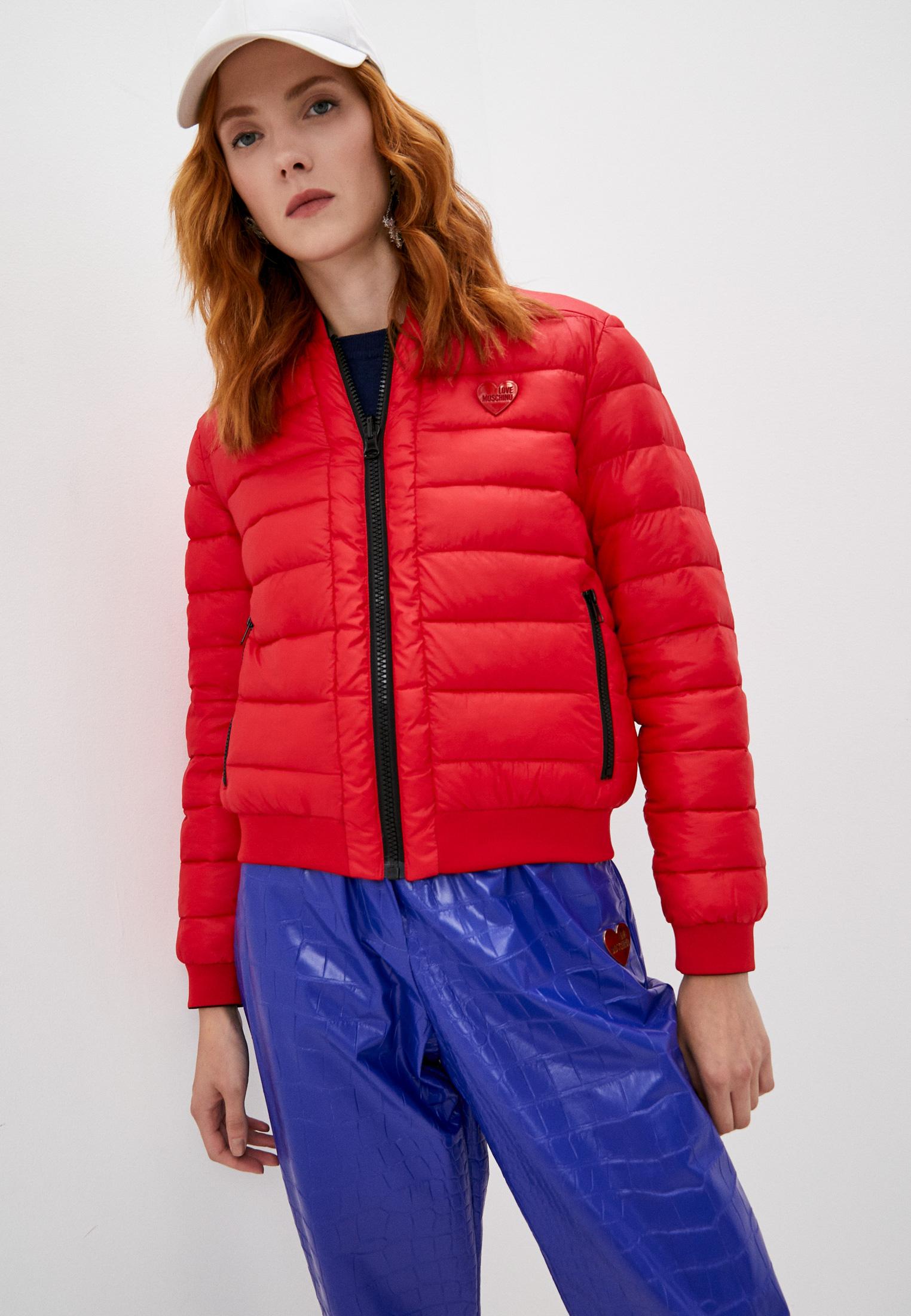 Утепленная куртка Love Moschino W H 741 01 T 006A