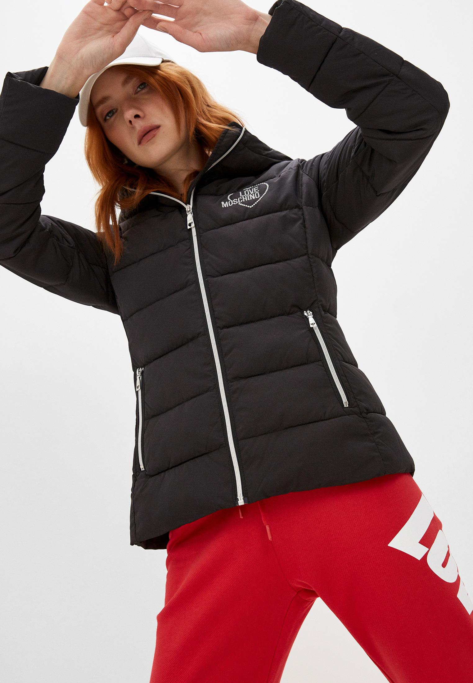 Утепленная куртка Love Moschino W H 751 01 T 042A